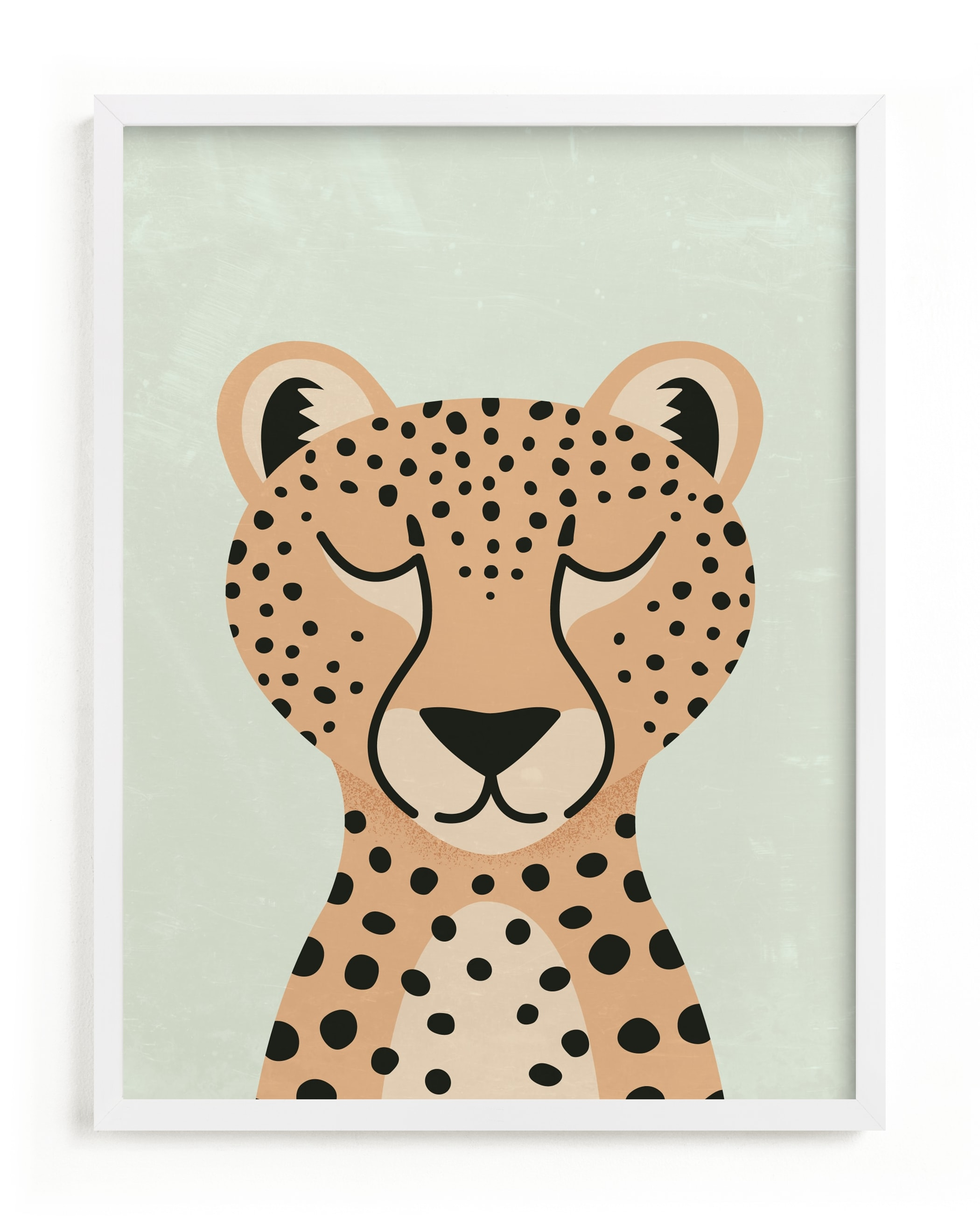"""""""Cheetah"""" - Limited Edition Art Print by 2birdstone in beautiful frame options and a variety of sizes."""