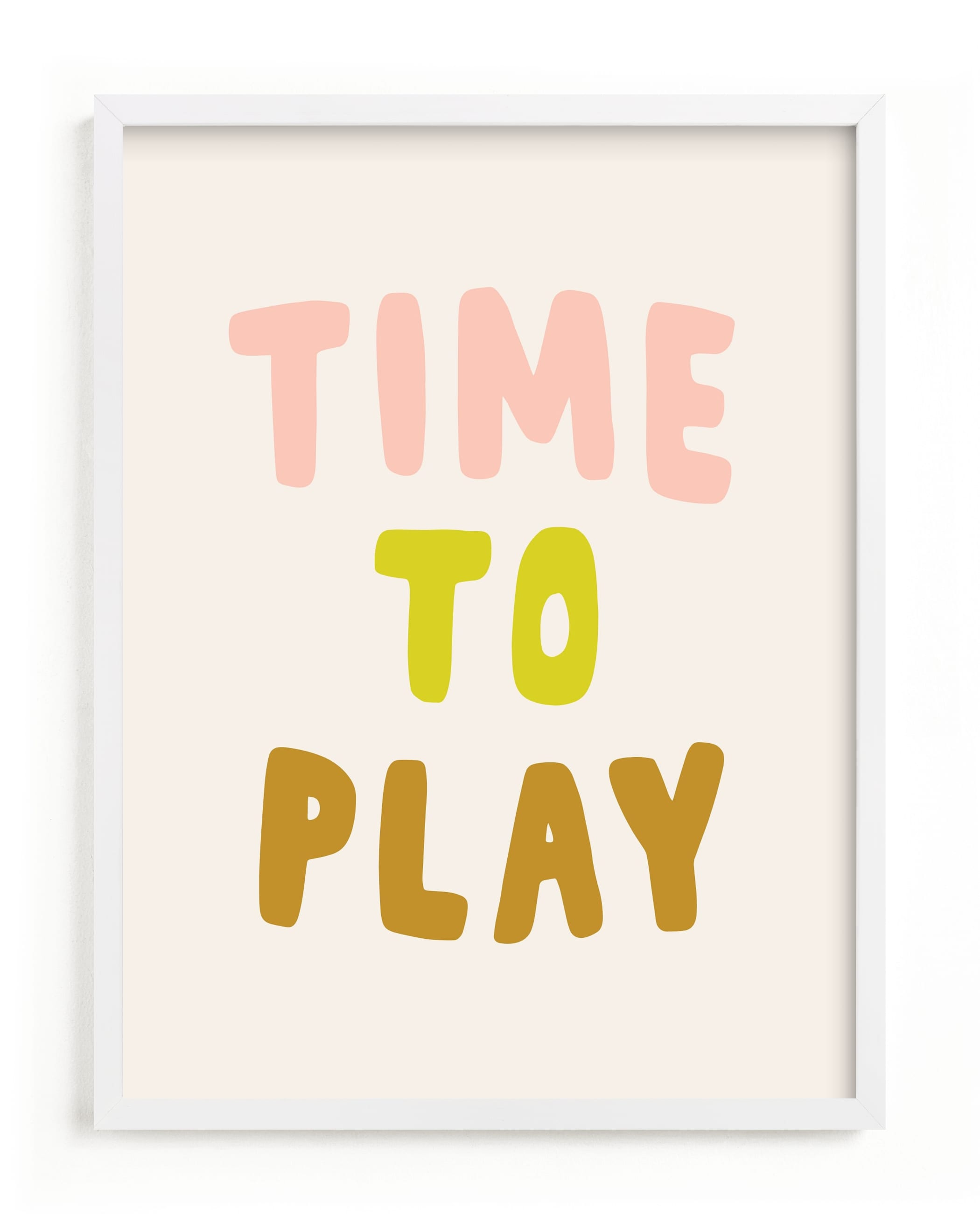 """Time to Play"" - Limited Edition Art Print by Alicia Schultz in beautiful frame options and a variety of sizes."