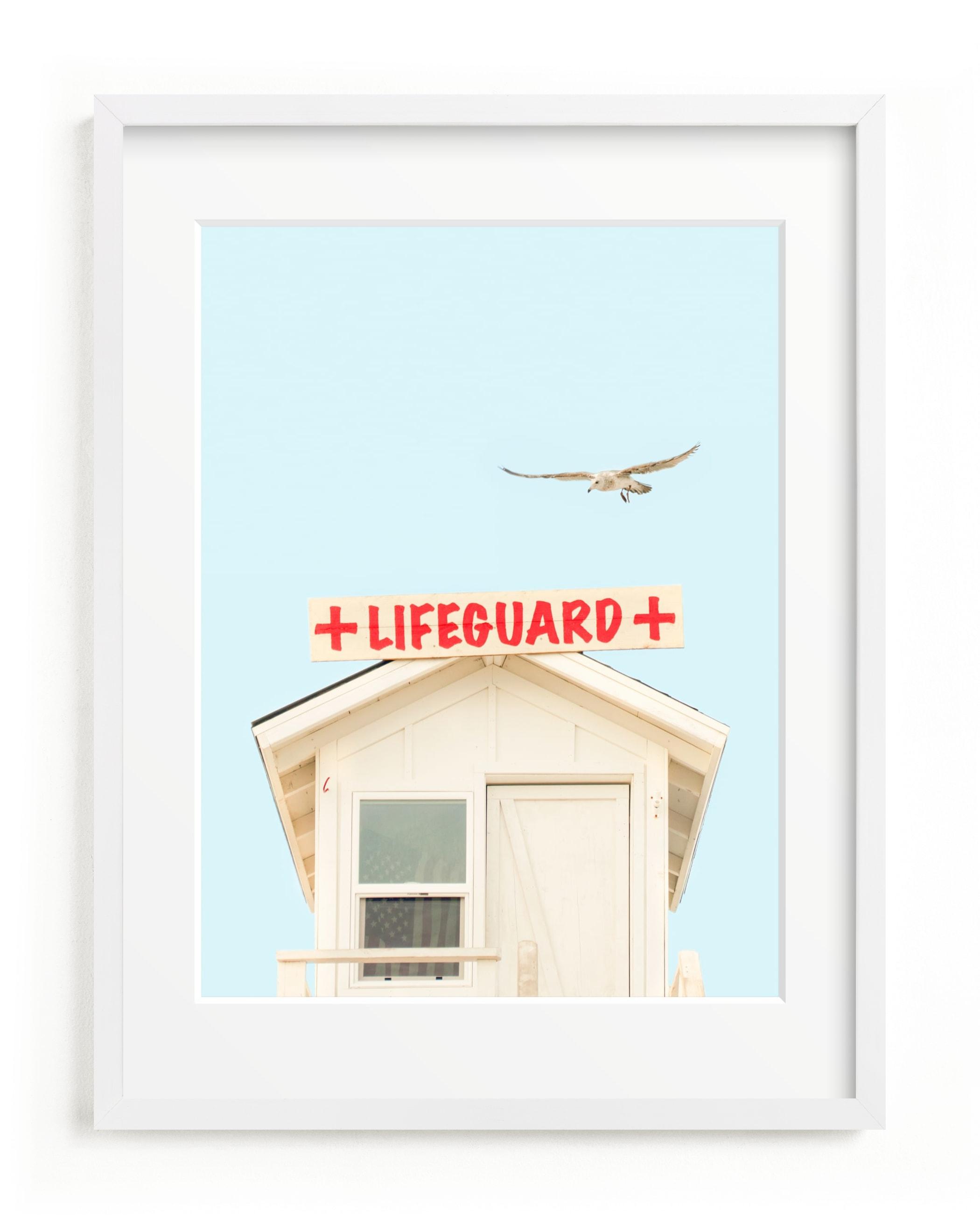 The Lifeguard Children's Art Print