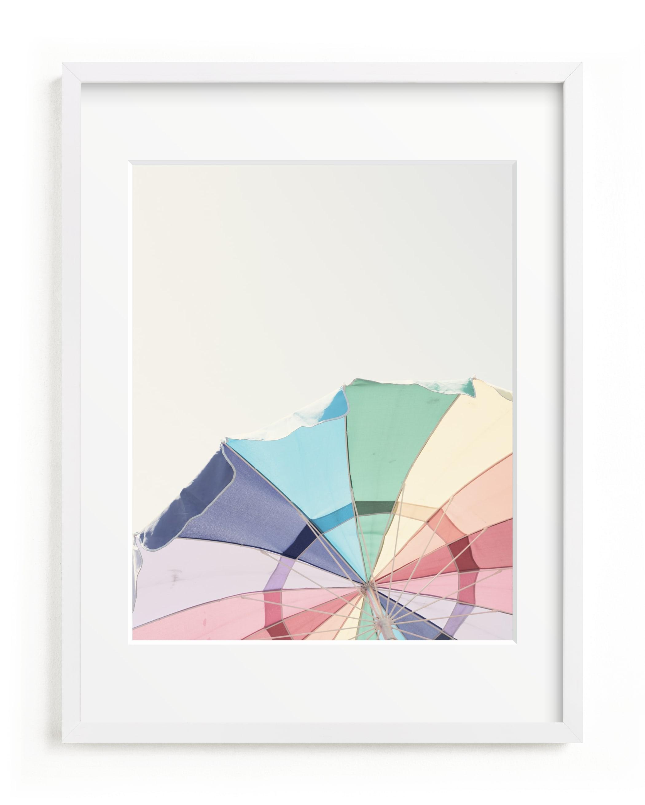 Rainbow Summer Children's Art Print