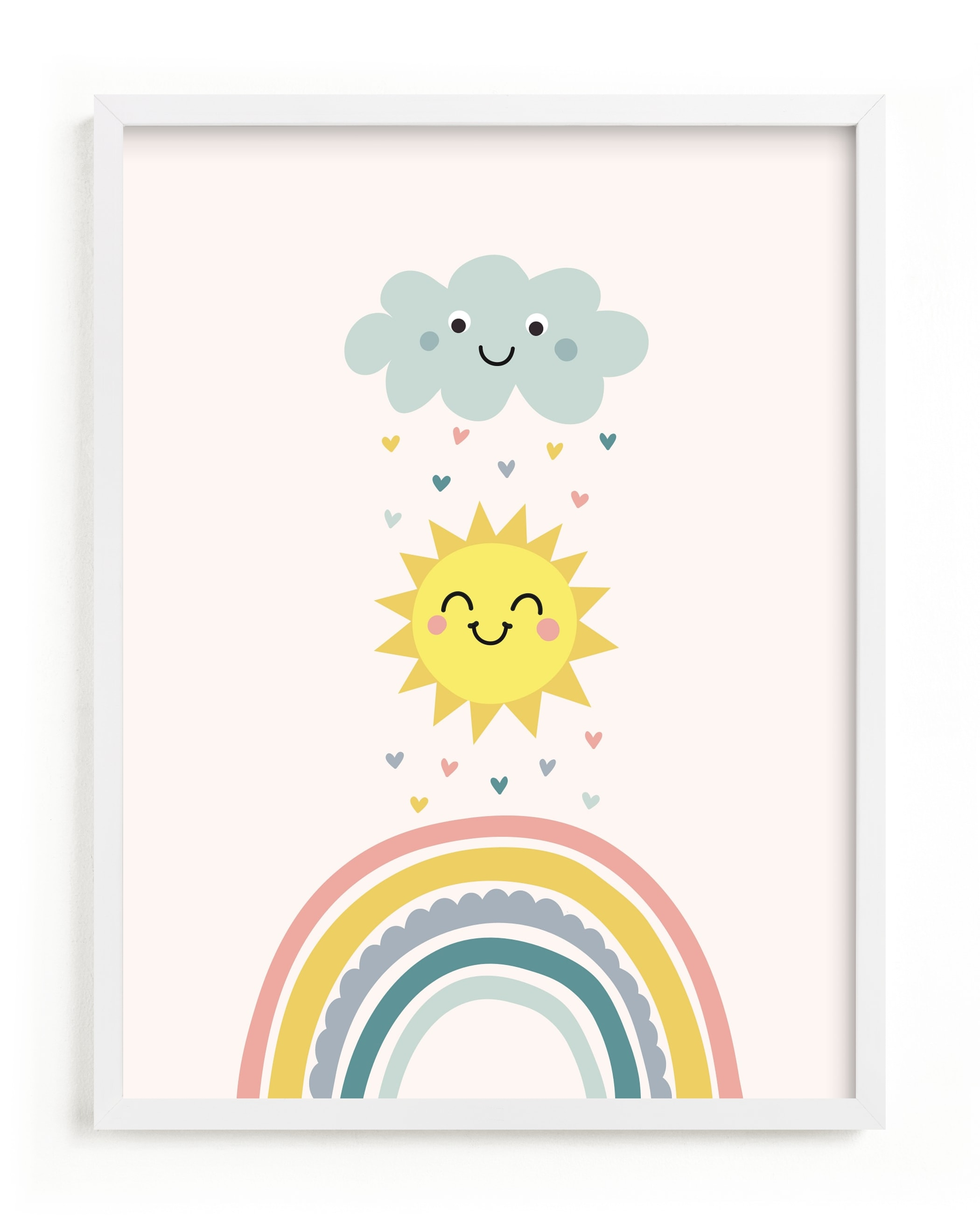 """""""How to make a rainbow"""" - Limited Edition Art Print by Annie Holmquist in beautiful frame options and a variety of sizes."""