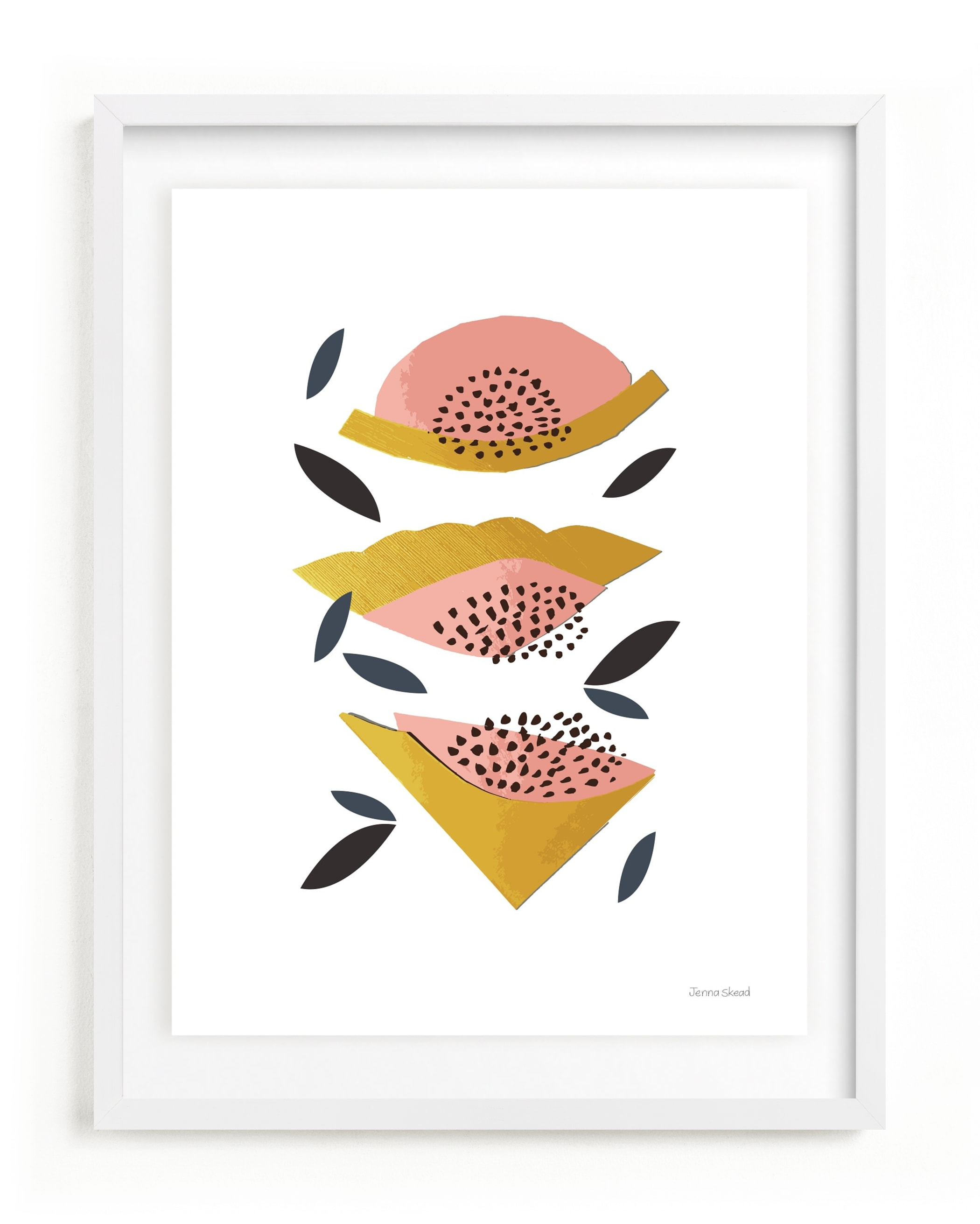 Honey Melon Children's Art Print