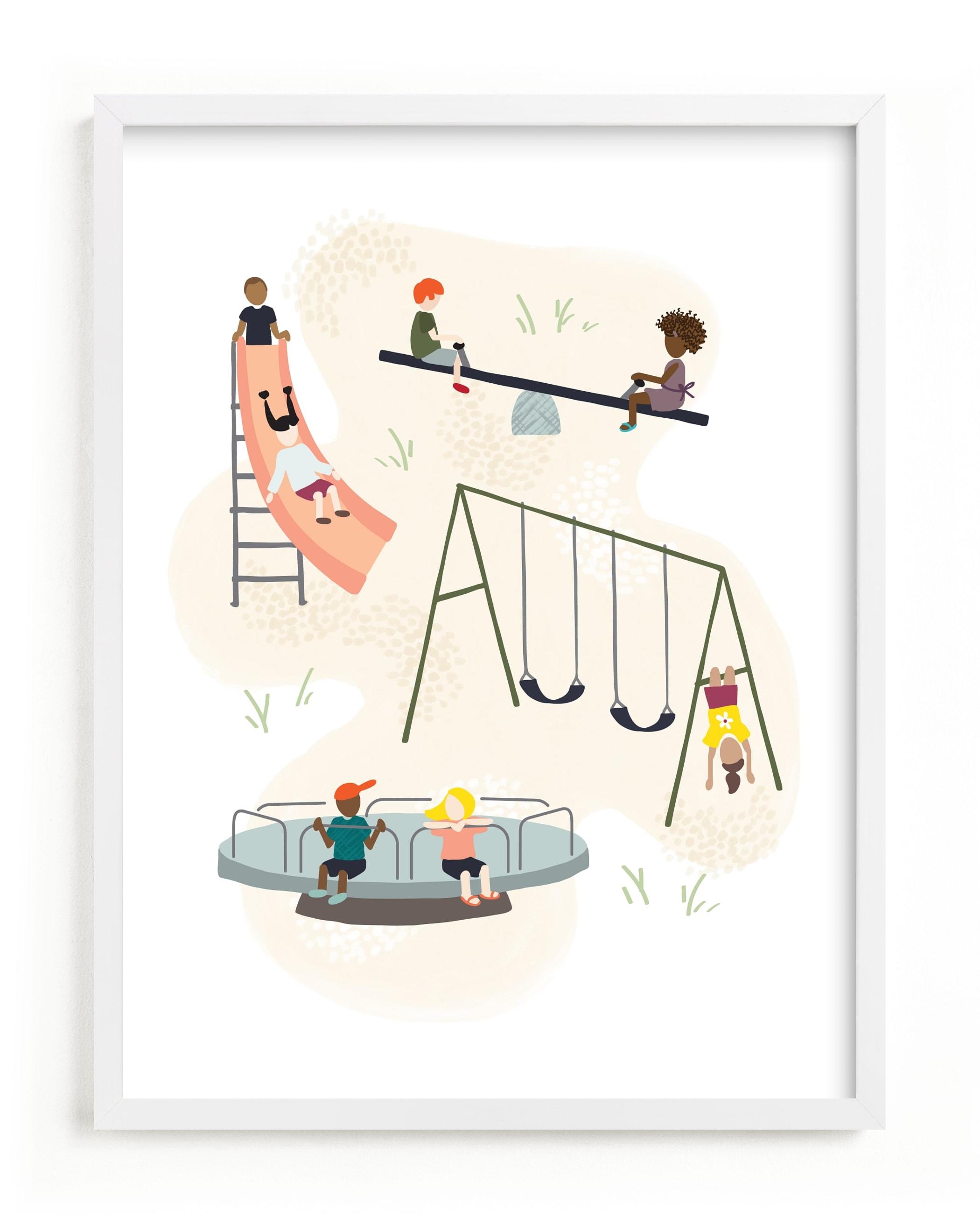 Together Children's Art Print