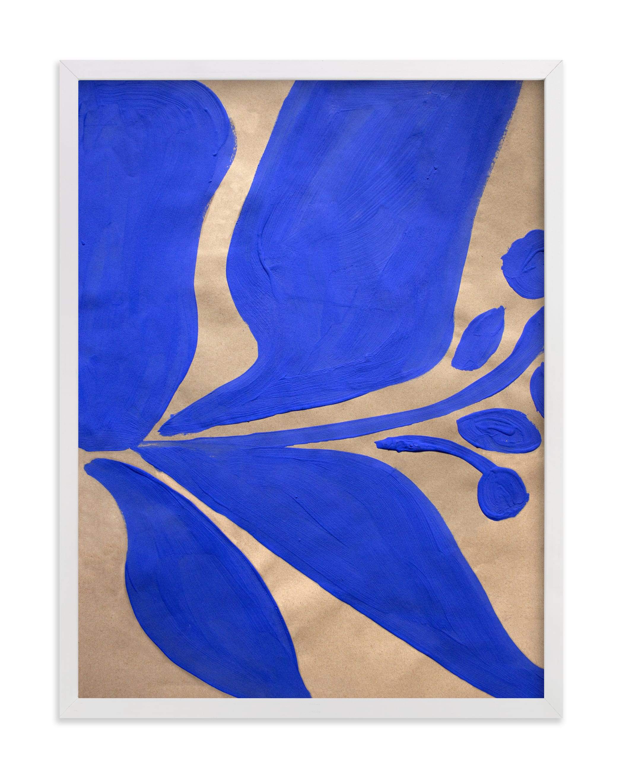"""""""Blue Belle"""" by cyrille gulassa in beautiful frame options and a variety of sizes."""