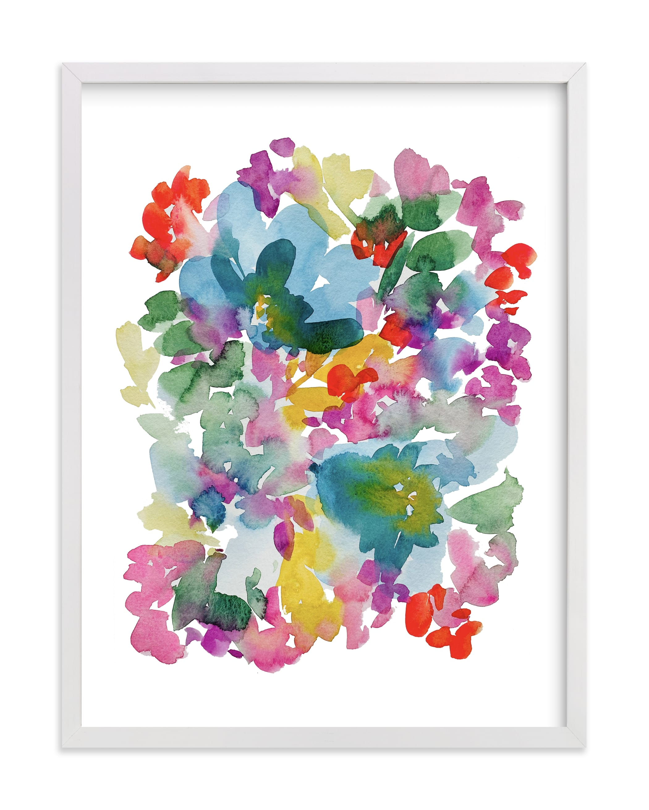 """""""Confetti Blooms"""" by Britt Mills in beautiful frame options and a variety of sizes."""