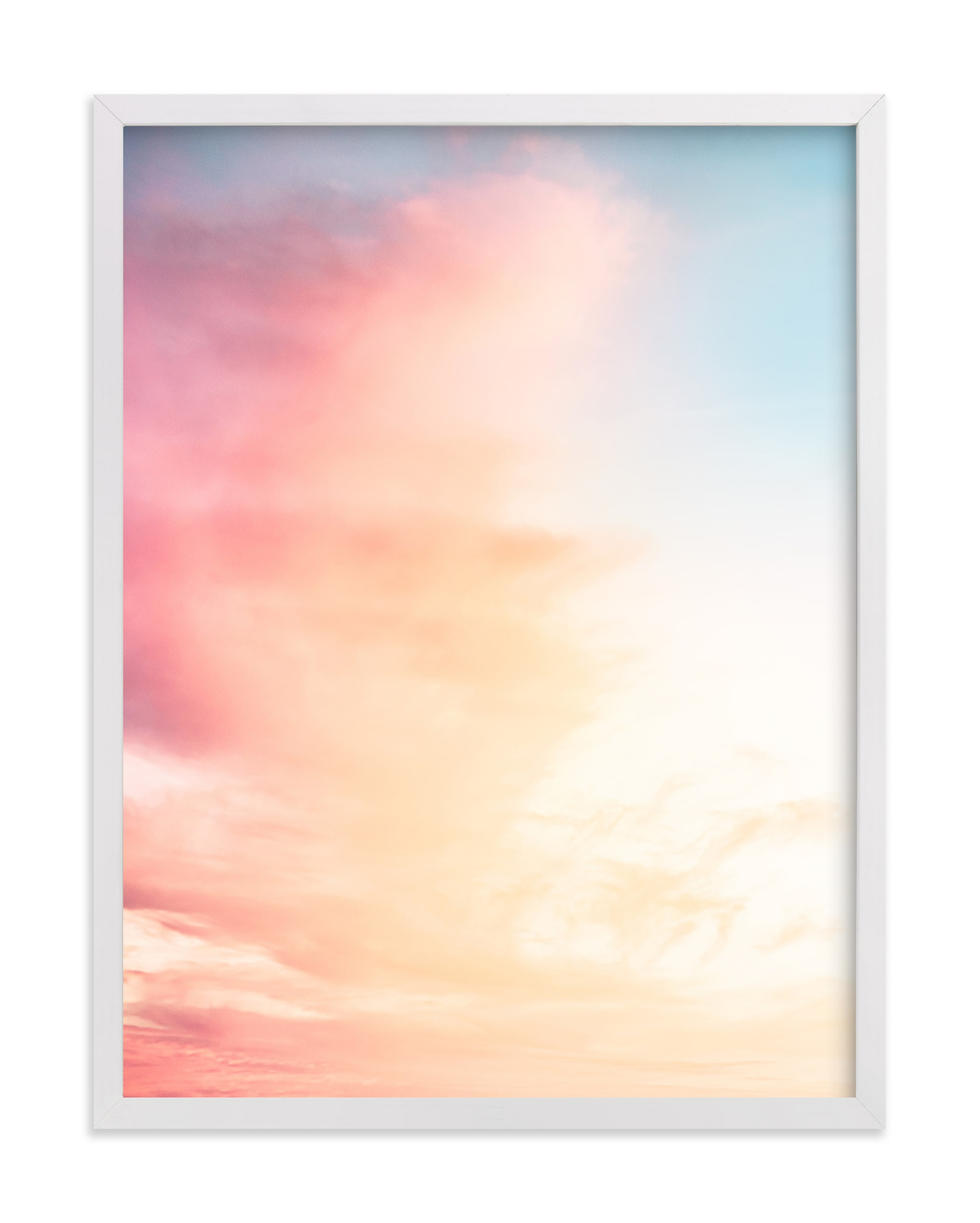 """""""Rainbow Sky I"""" by Kamala Nahas in beautiful frame options and a variety of sizes."""