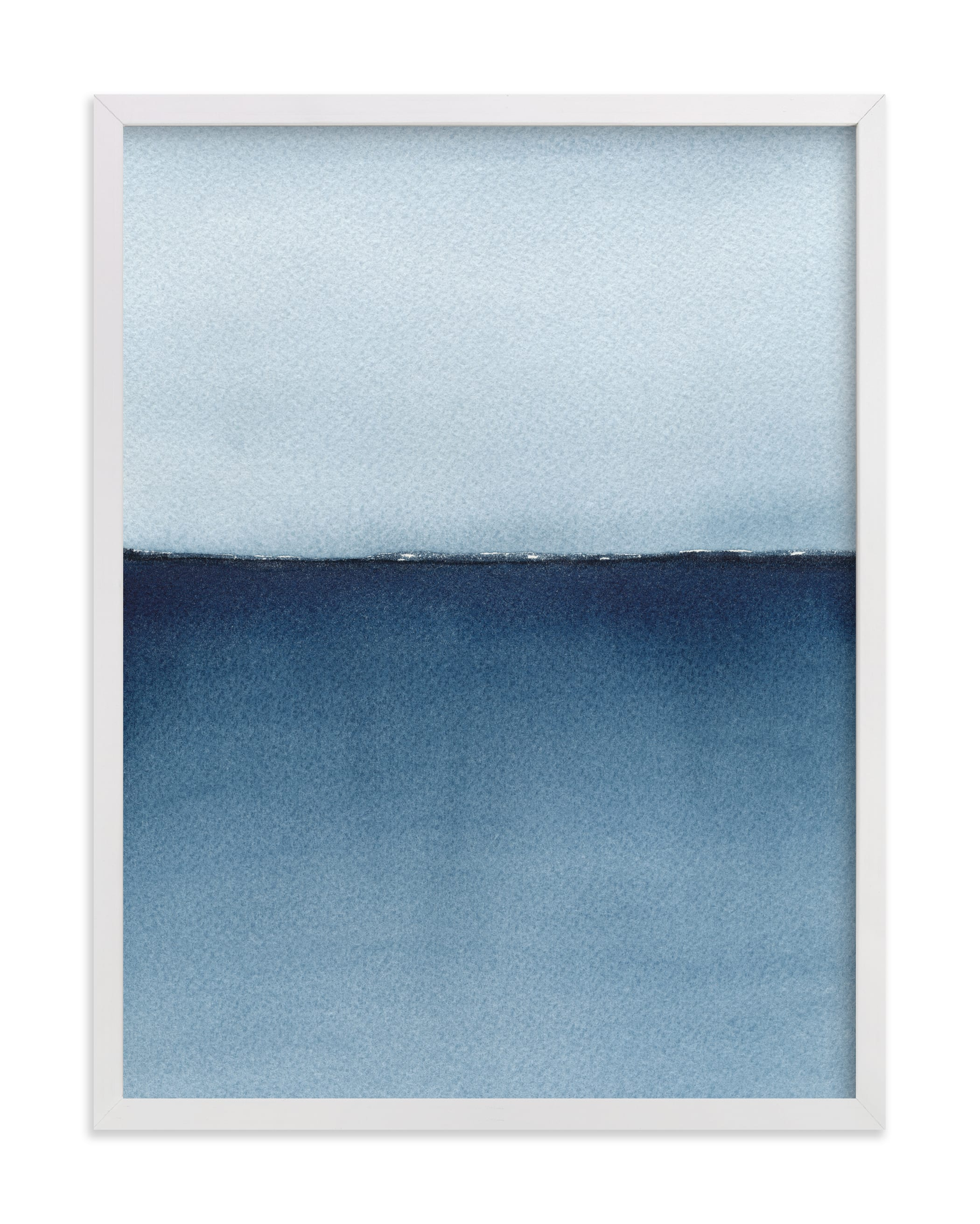 """""""Lake Superior Horizon"""" by Renee Anne Bouffard-McManus in beautiful frame options and a variety of sizes."""