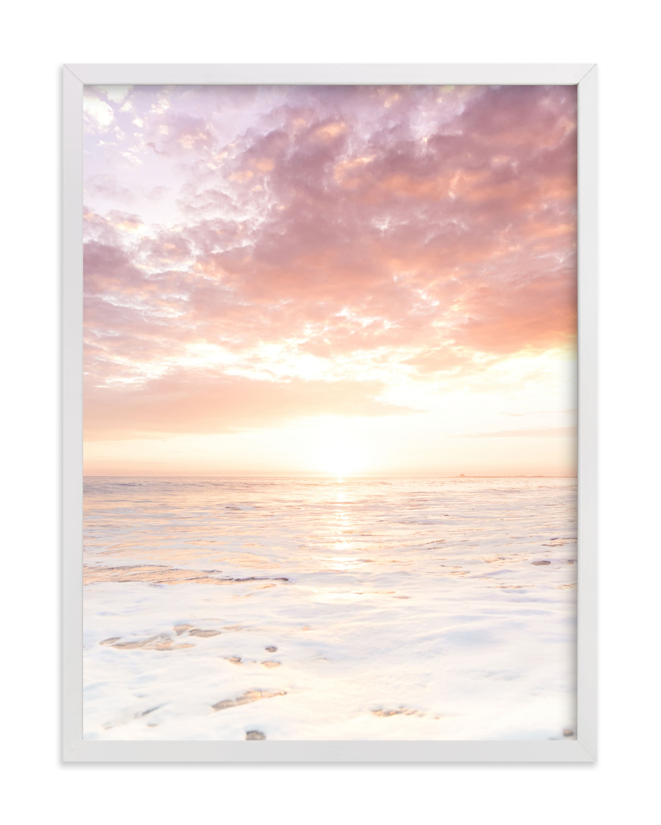 """Sorbet Surf II"" by Kamala Nahas in beautiful frame options and a variety of sizes."