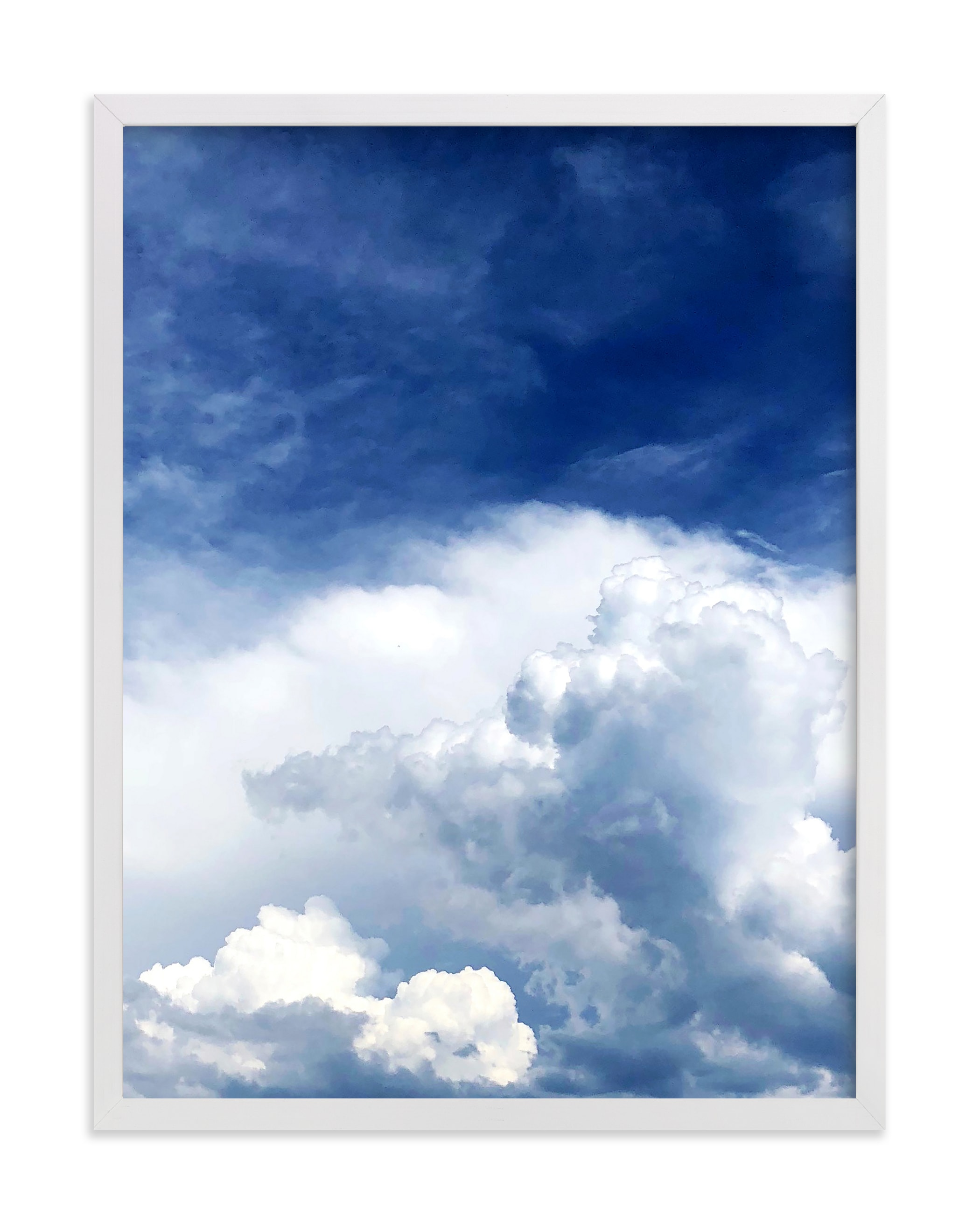 """Cloud Lover"" by Jenny Partrite in beautiful frame options and a variety of sizes."