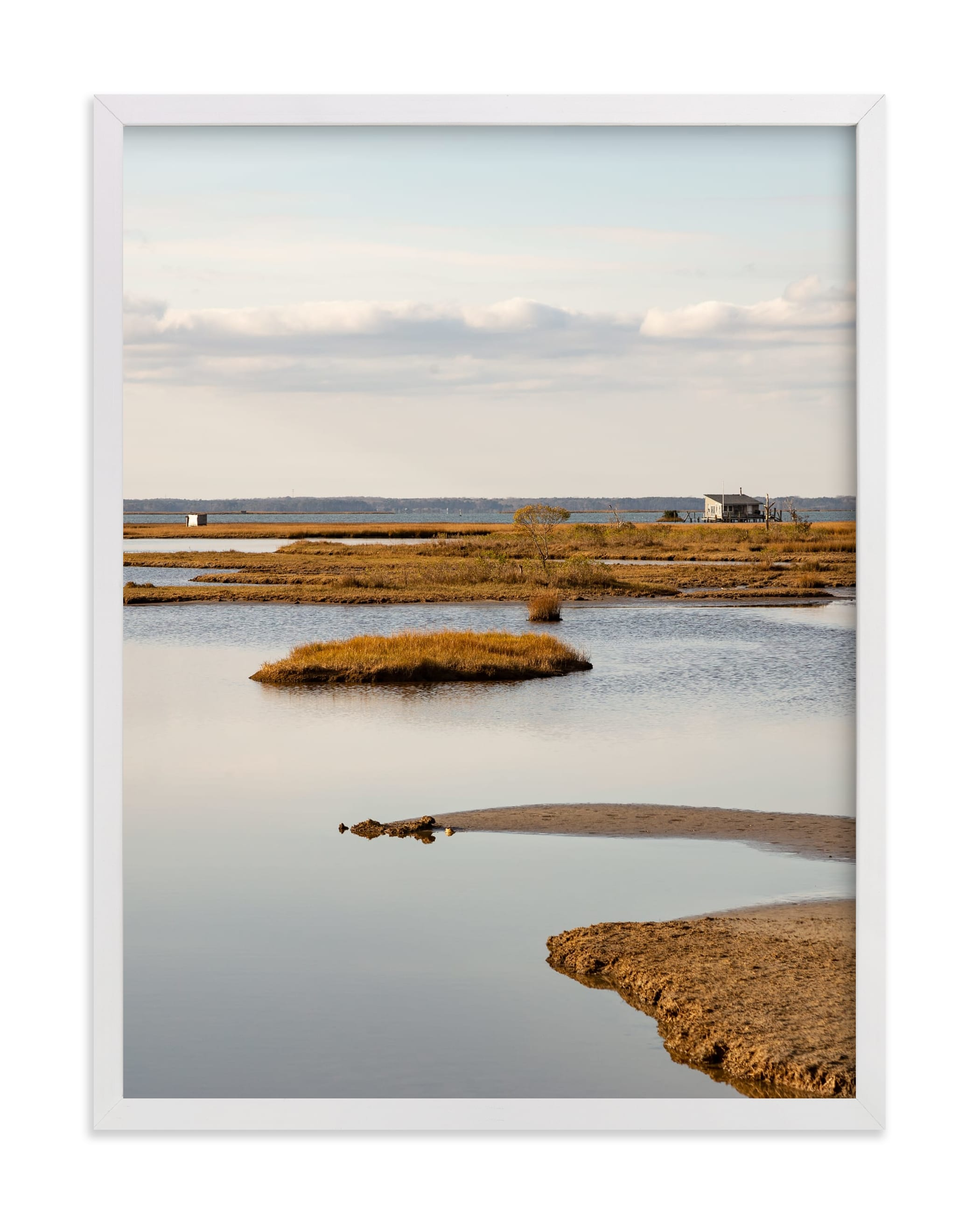"""""""MarshLand#1"""" by Van Tsao in beautiful frame options and a variety of sizes."""