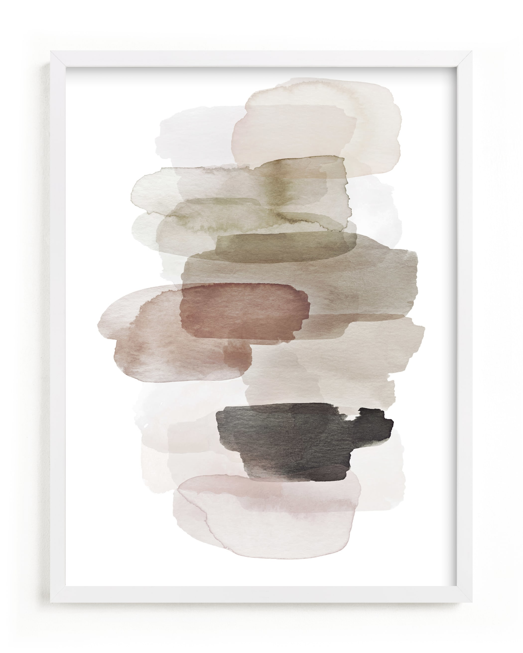 """""""Softly Stacked"""" by Melanie Severin in beautiful frame options and a variety of sizes."""