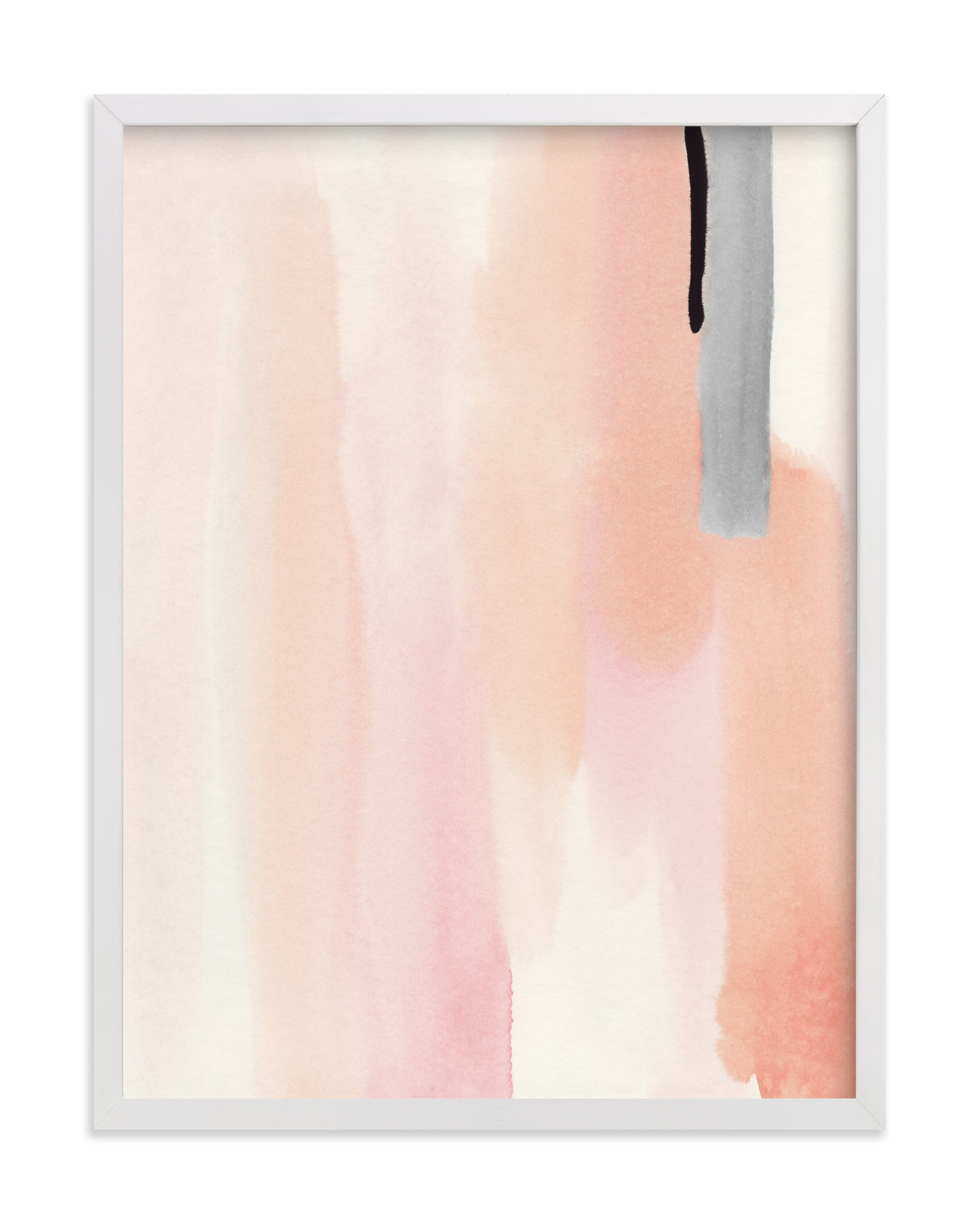 """""""Brush Strokes No.1"""" by Little Valley Studio in beautiful frame options and a variety of sizes."""