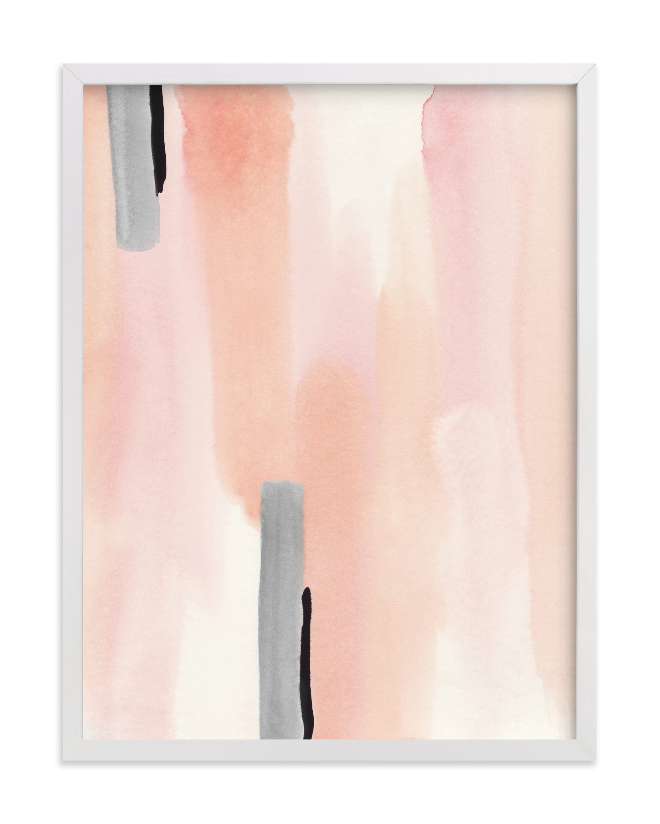 """""""Brush Strokes No.2"""" by Little Valley Studio in beautiful frame options and a variety of sizes."""
