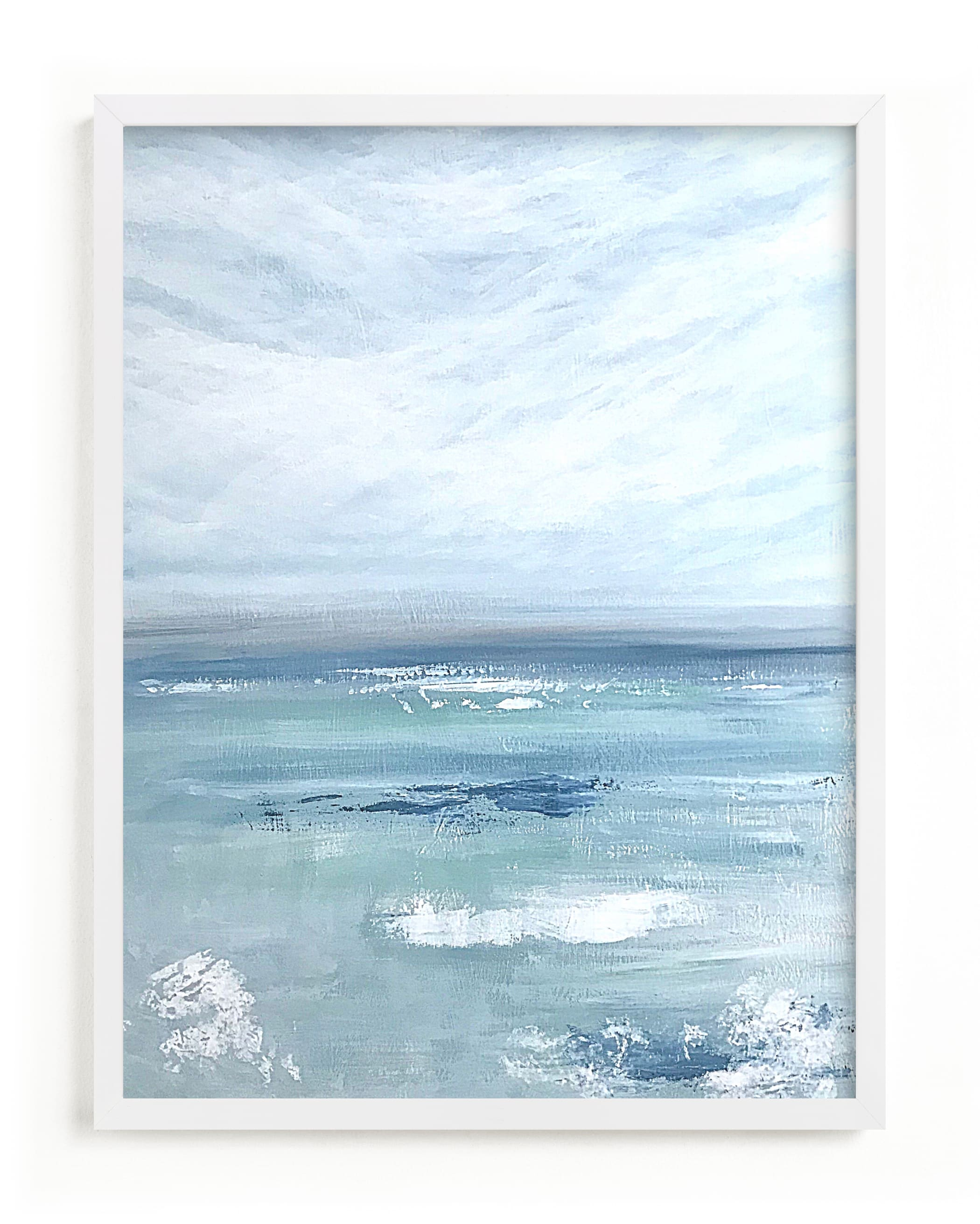 """""""Aqua View """" by Colleen Ehrlich in beautiful frame options and a variety of sizes."""