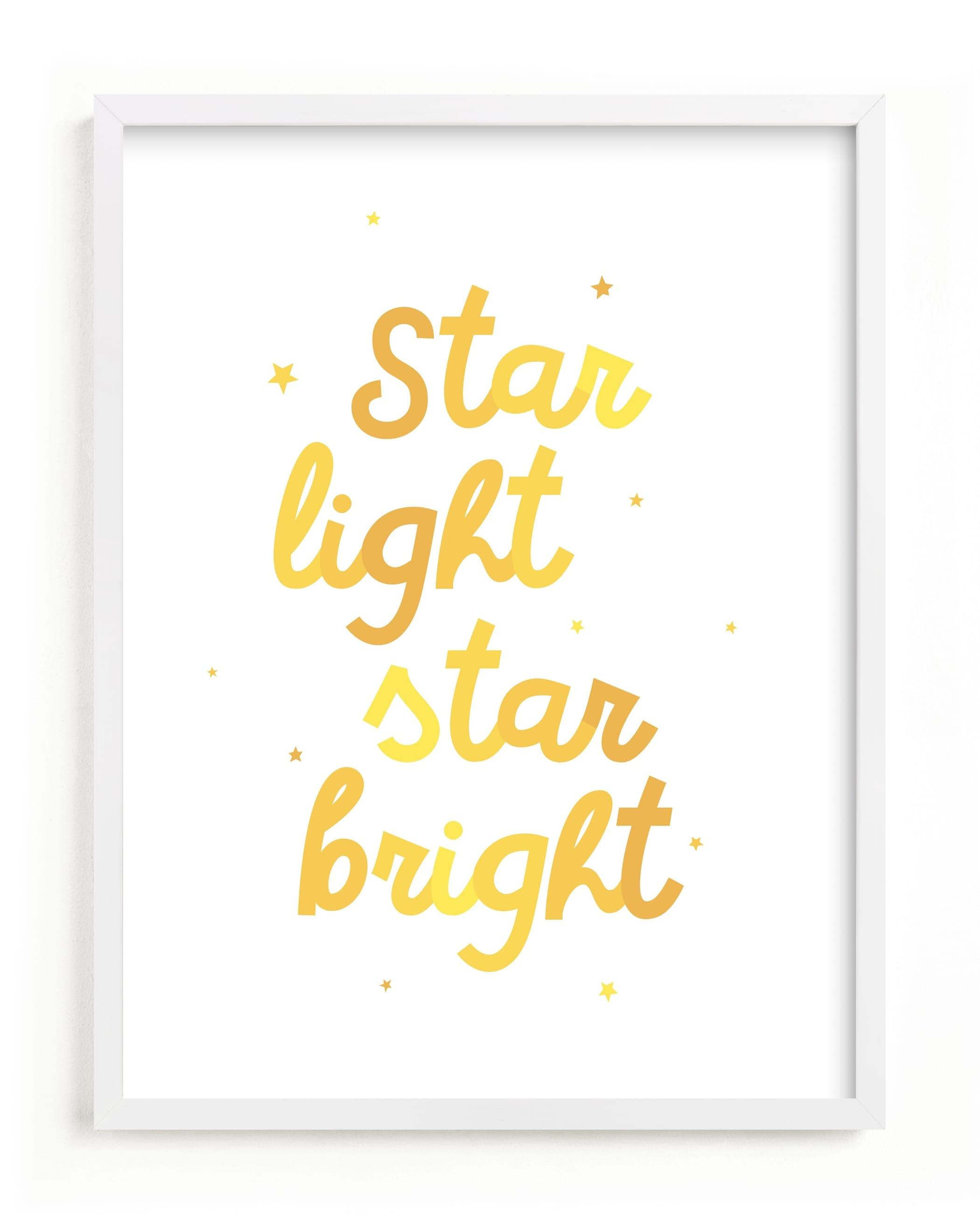 Star Light Star Bright Nursery Art Print