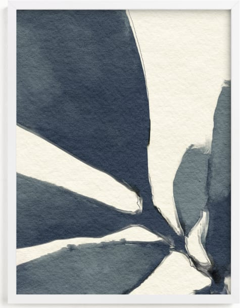 This is a blue art by Pamela Viola called Simple But So.