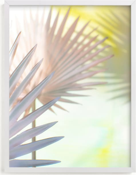 This is a colorful art by Alicia Abla called electric palms.