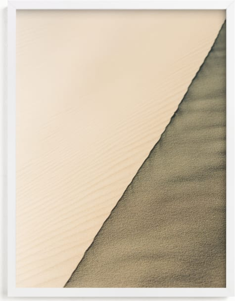 This is a brown art by Therese d called Sahara Desert.
