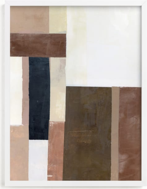 This is a brown art by Sara Hicks Malone called Unite.