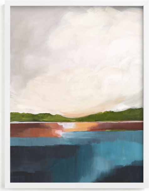 This is a blue art by AlisonJerry called Water's Edge.