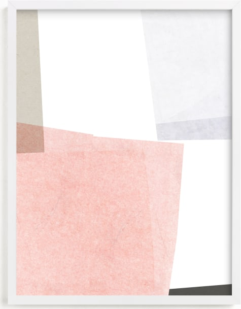This is a grey art by Francesca Iannaccone called Settling 1.
