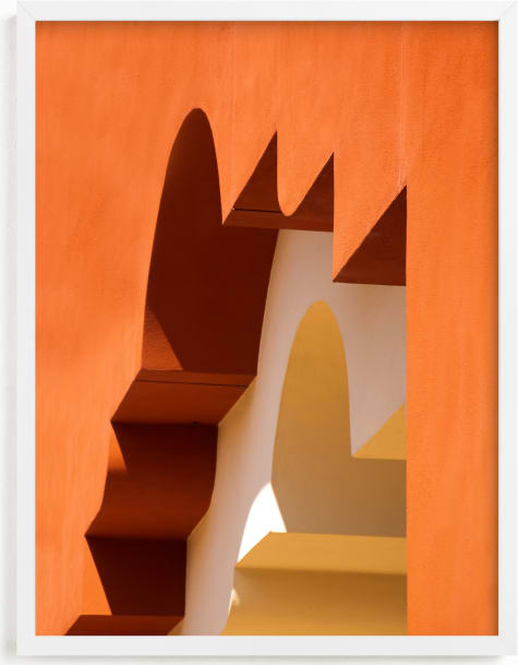 This is a black art by Lisa Sundin called Moroccan Angles I.