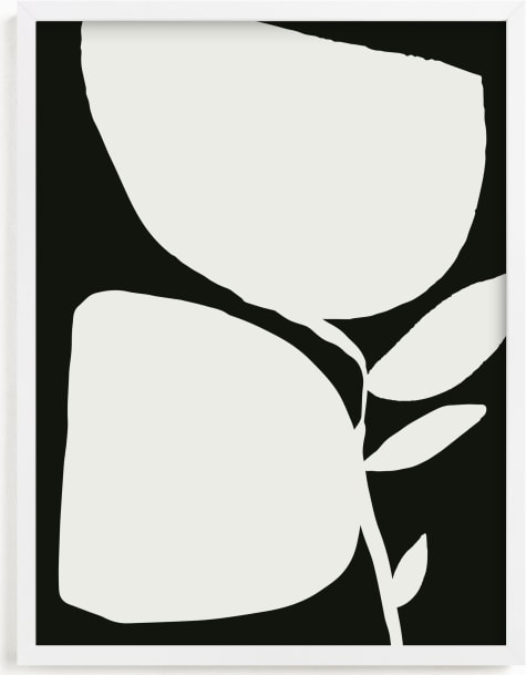 This is a black and white art by Creo Study called Urban garden II.