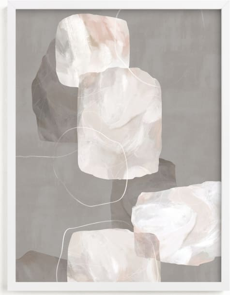 This is a grey art by Hooray Creative called Float.