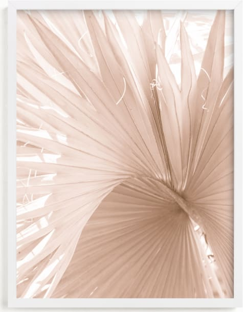 This is a white art by Carly Tabak called Whirl.
