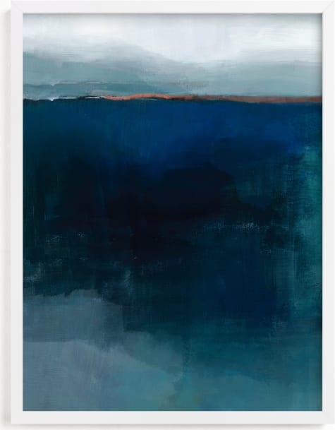This is a blue art by AlisonJerry called Deep Down.