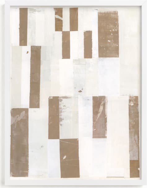 This is a brown art by Sara Hicks Malone called skinny dip no. 1.
