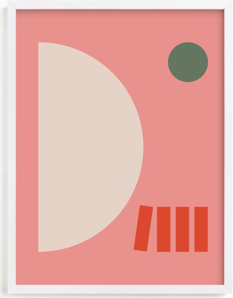 This is a pink art by Alex Roda called Giulietta.