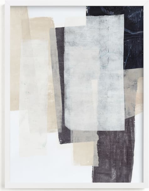 This is a grey art by Jennifer Daily called History Repeats.