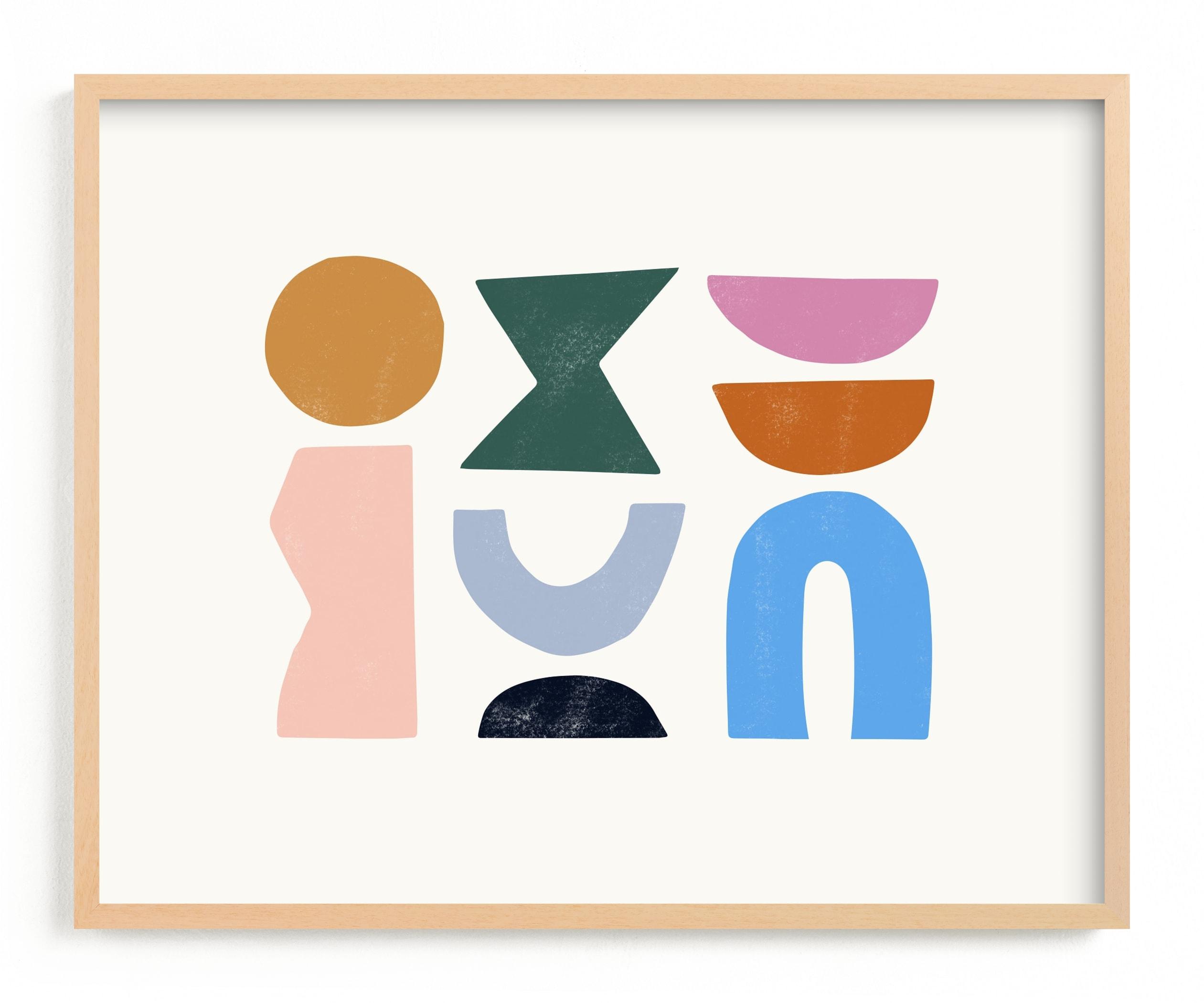Color Form Wall Art Print