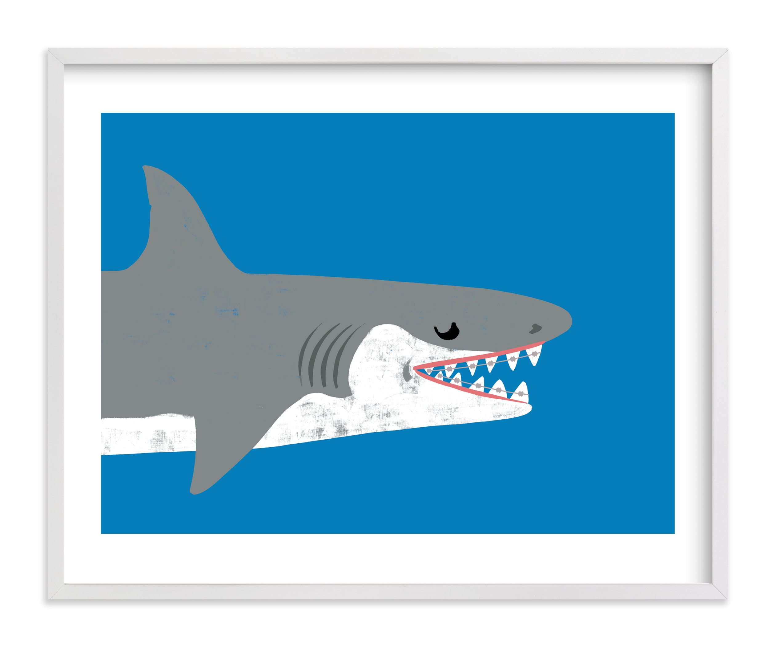 """""""Smile"""" by mo kelley in beautiful frame options and a variety of sizes."""