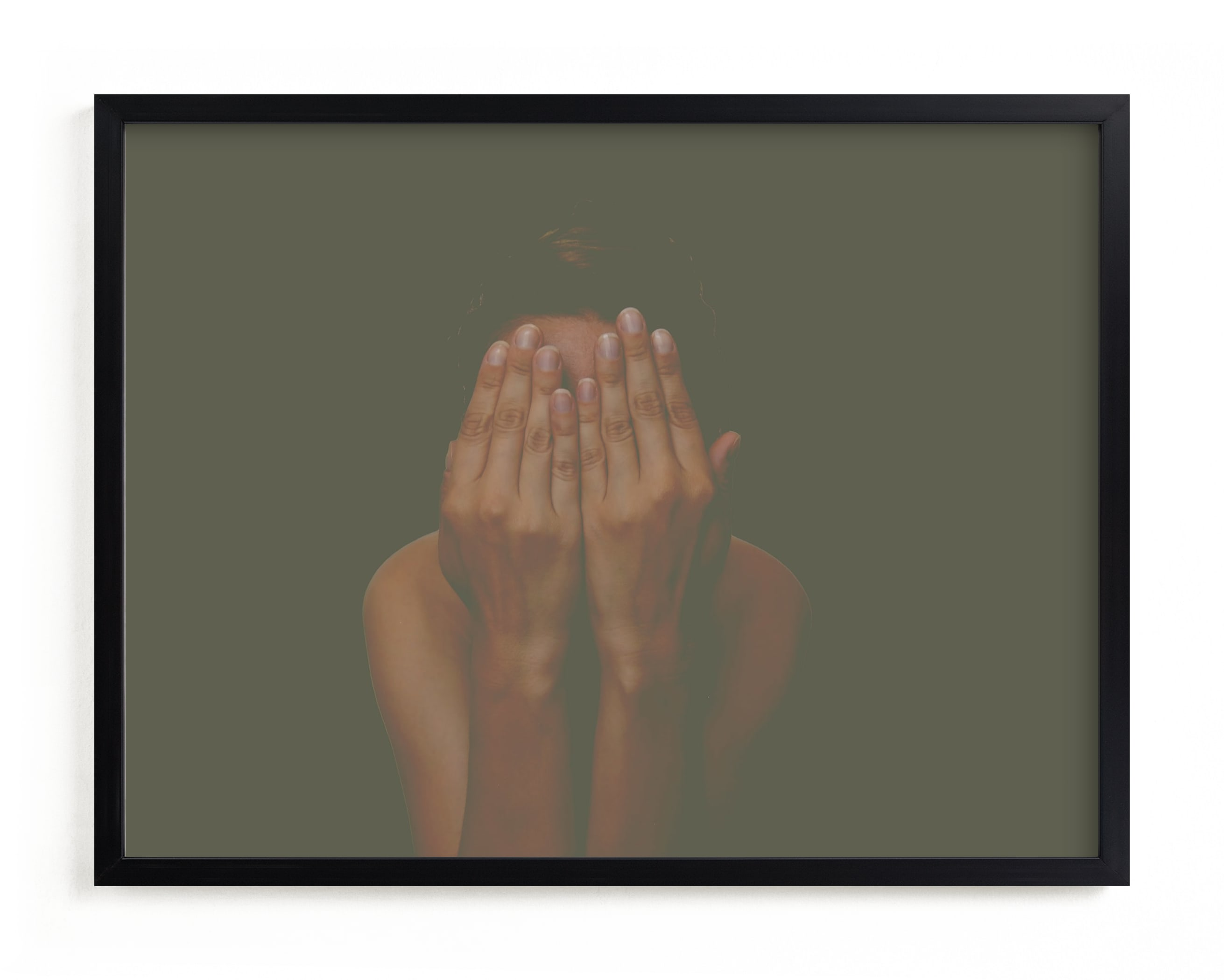 """""""I don't like my picture taken"""" - Limited Edition Art Print by Maja Cunningham in beautiful frame options and a variety of sizes."""