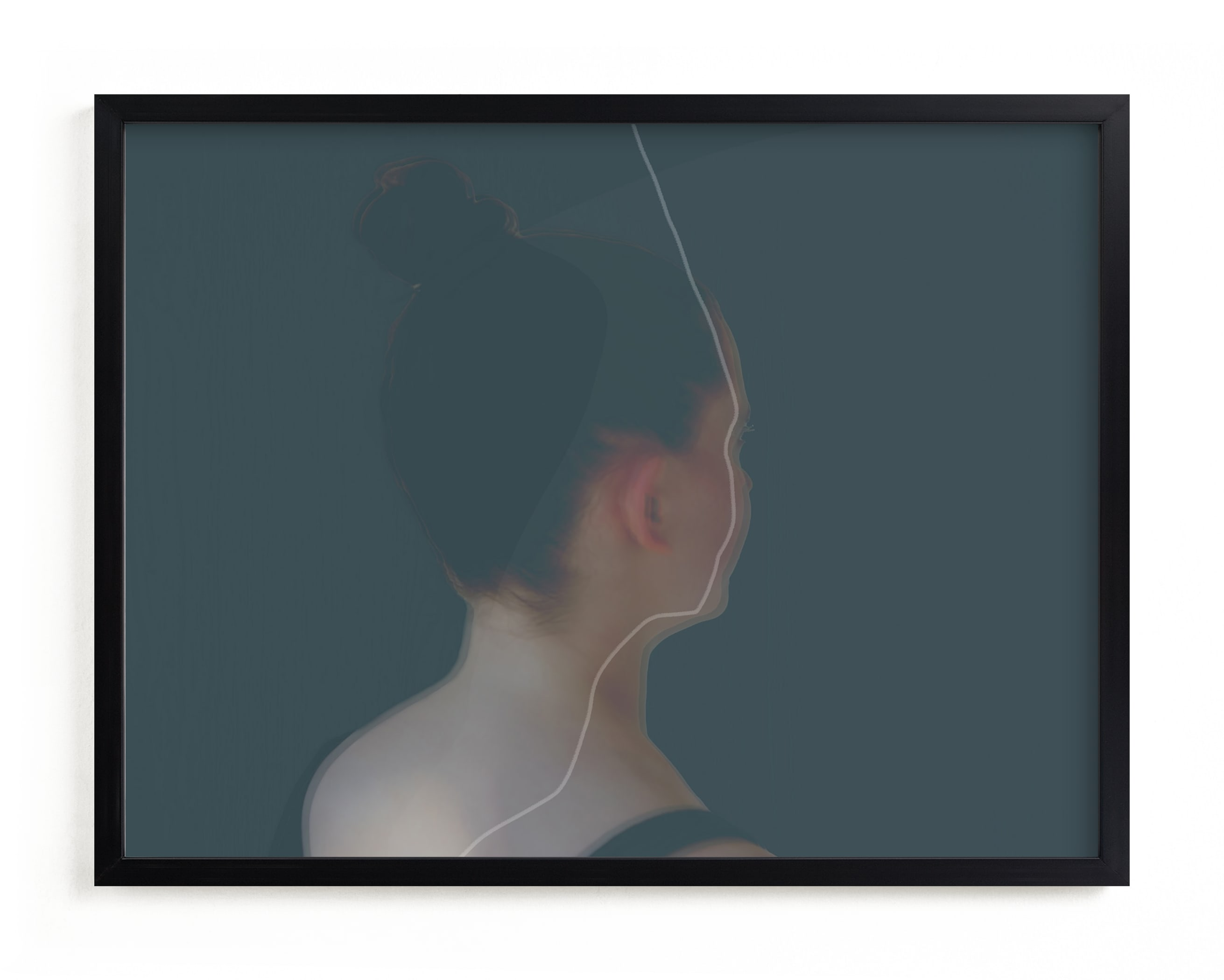 """""""Poise"""" - Limited Edition Art Print by Maja Cunningham in beautiful frame options and a variety of sizes."""