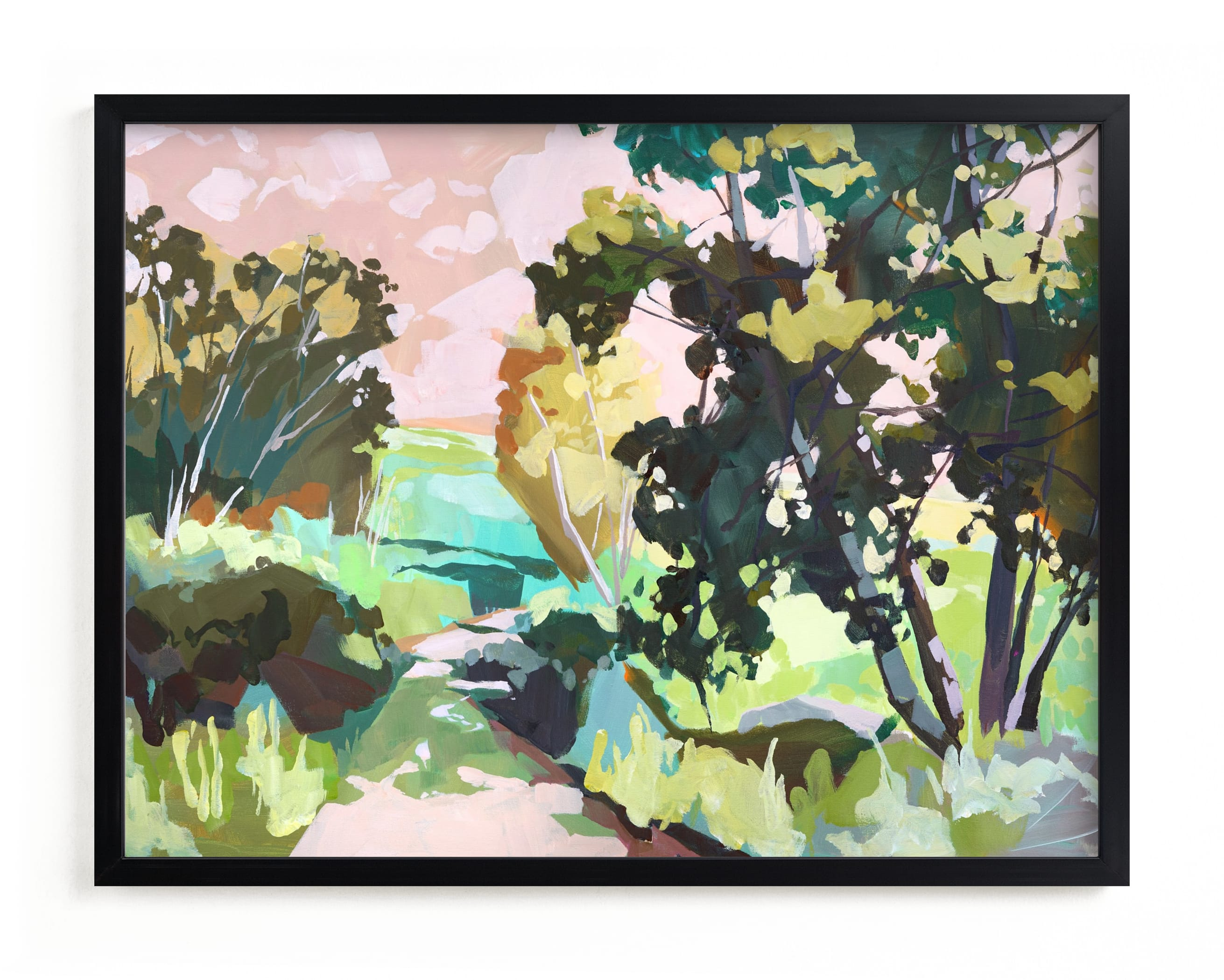 """""""Dappled Light"""" - Limited Edition Art Print by Jess Franks in beautiful frame options and a variety of sizes."""