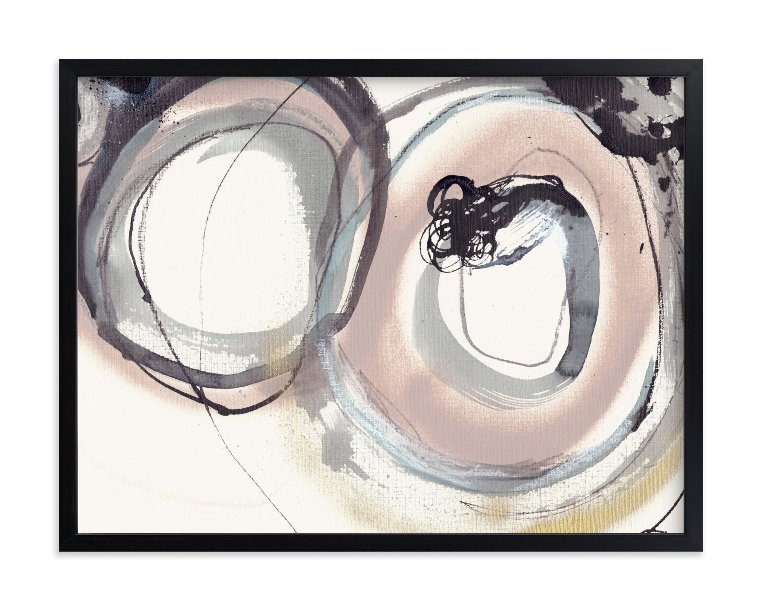 """""""Puddle Jump"""" - Limited Edition Art Print by ADRIENNE JACKSON in beautiful frame options and a variety of sizes."""
