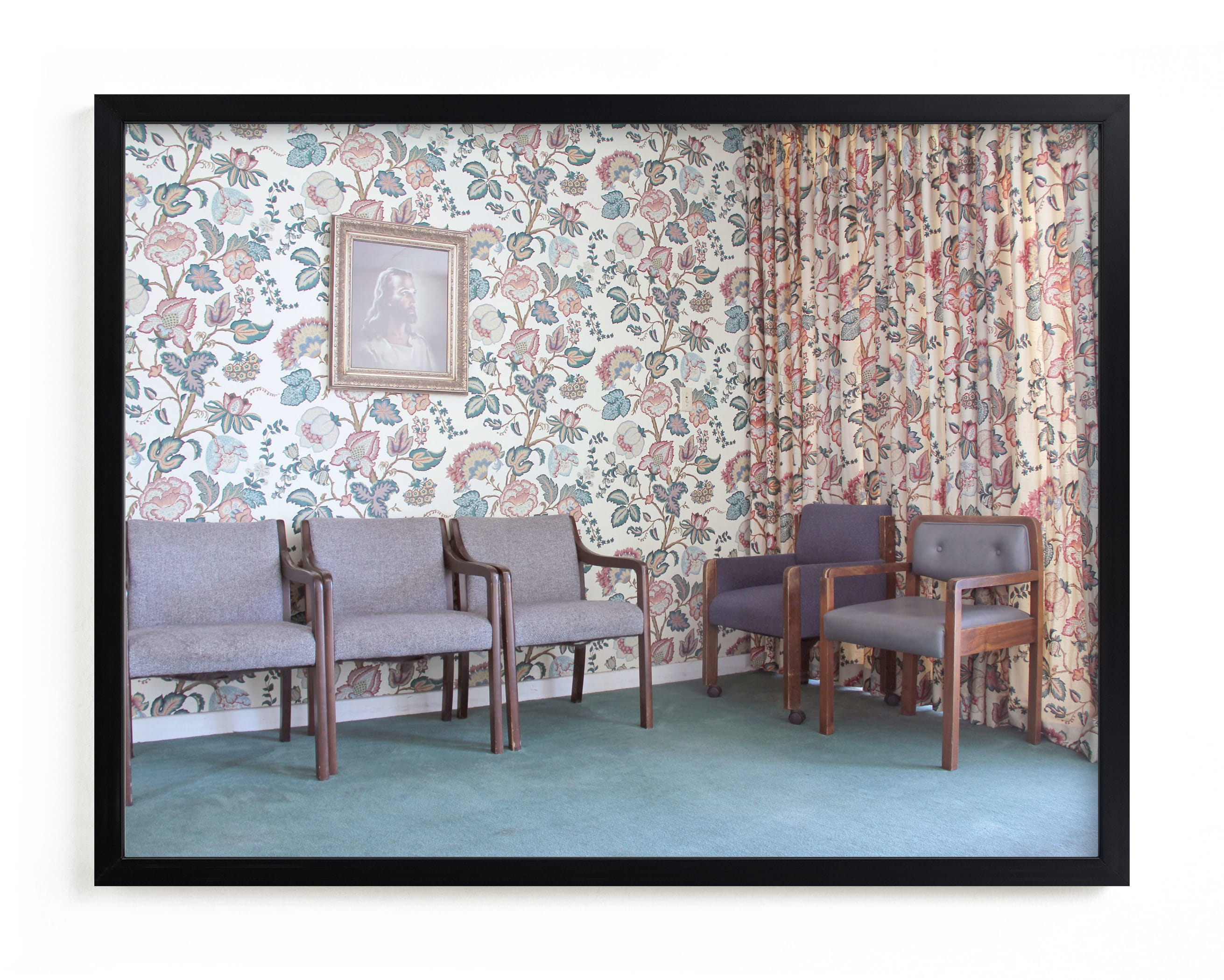 """Waiting Room"" - Limited Edition Art Print by Julie Grace Immink in beautiful frame options and a variety of sizes."