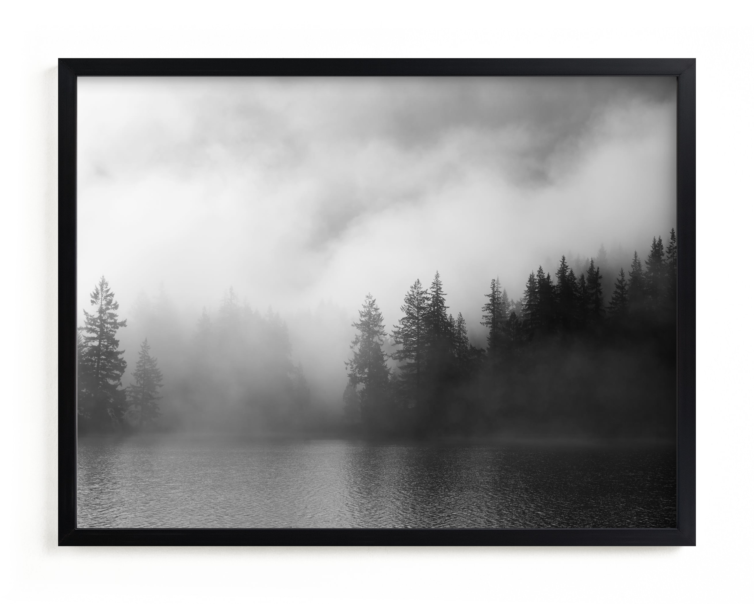 """""""Dark Fog"""" - Limited Edition Art Print by Jennifer Morrow in beautiful frame options and a variety of sizes."""