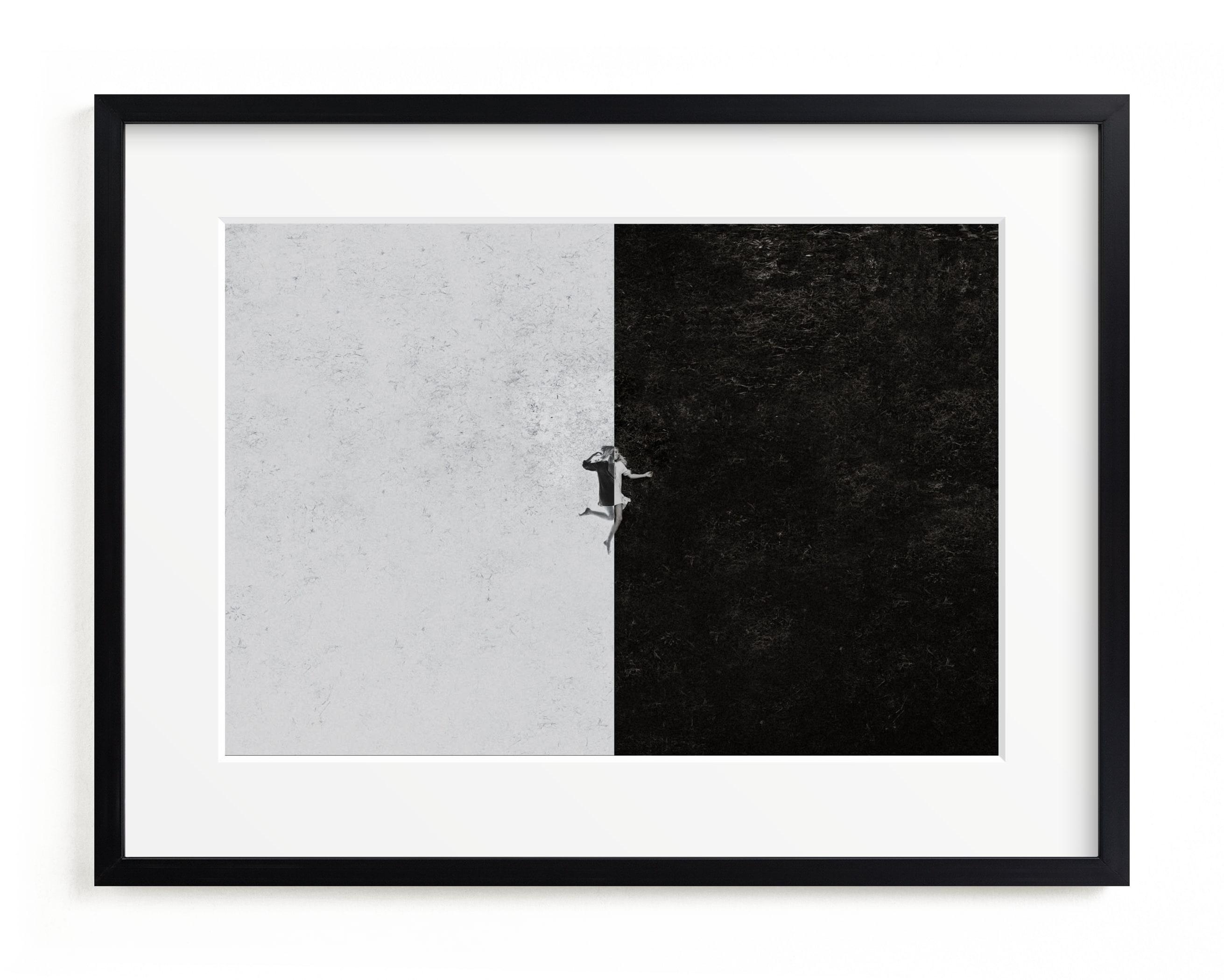 negative-positive Art Print