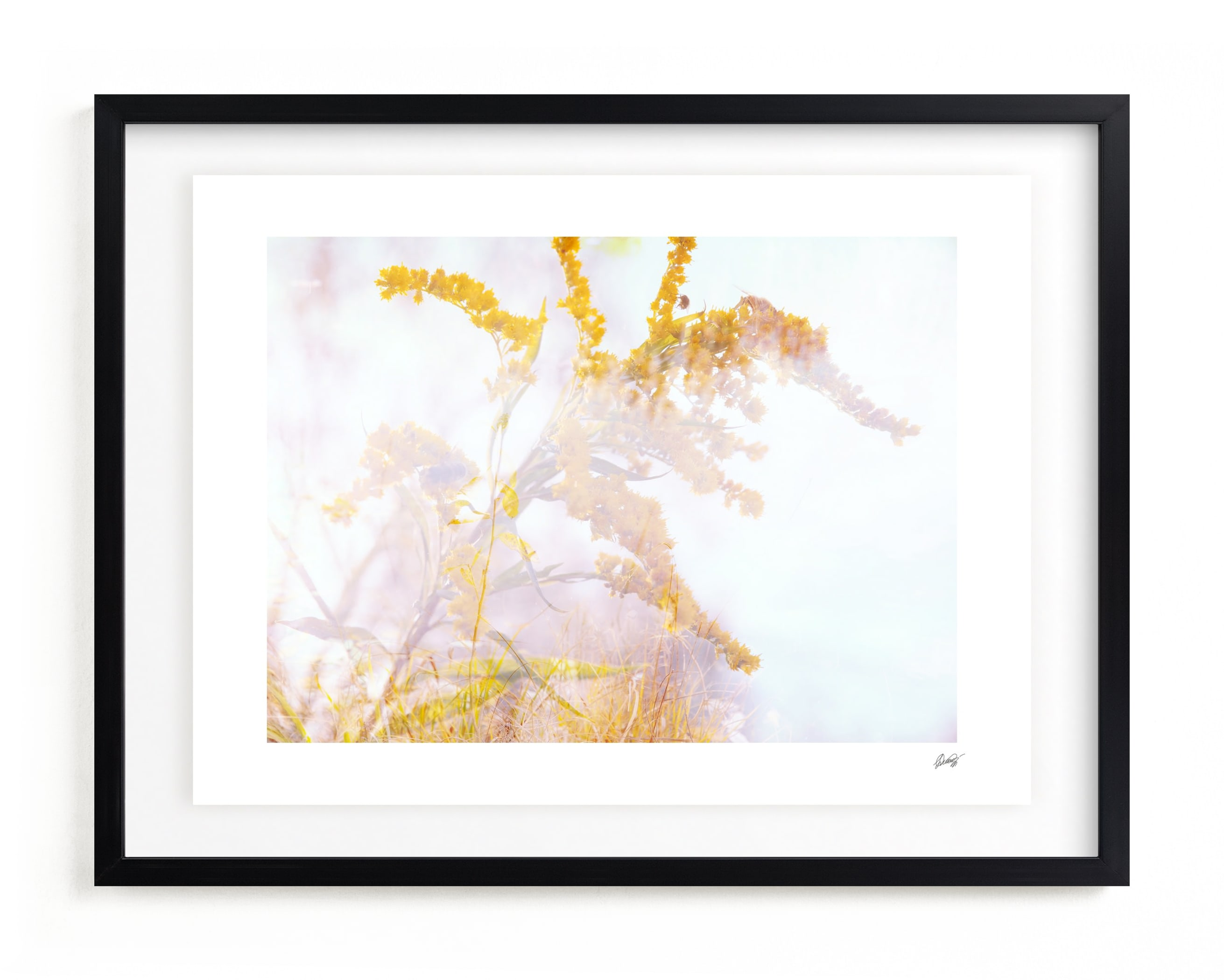 autumn breath IV Art Print