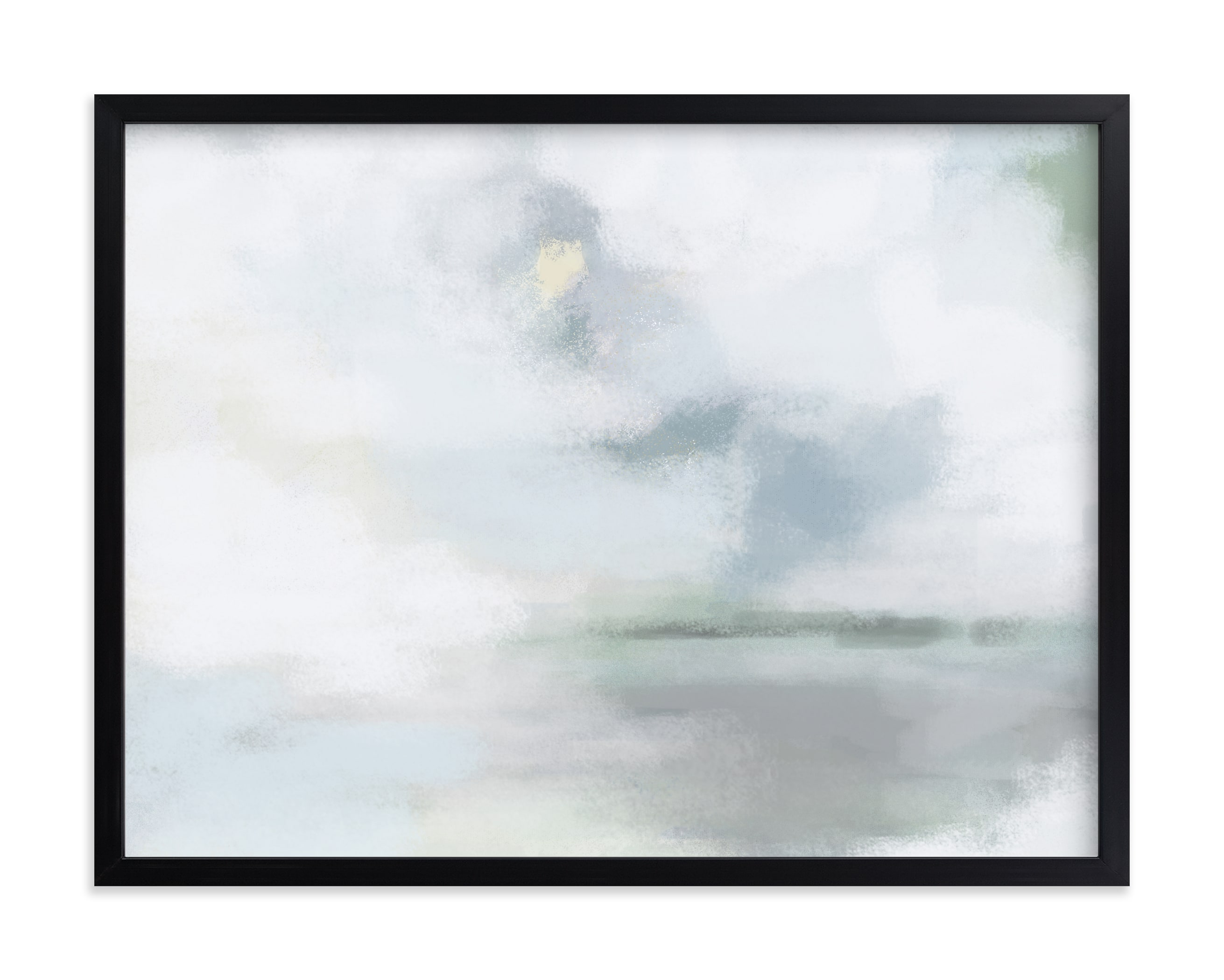 """""""Monday Blues"""" - Limited Edition Art Print by AlisonJerry in beautiful frame options and a variety of sizes."""