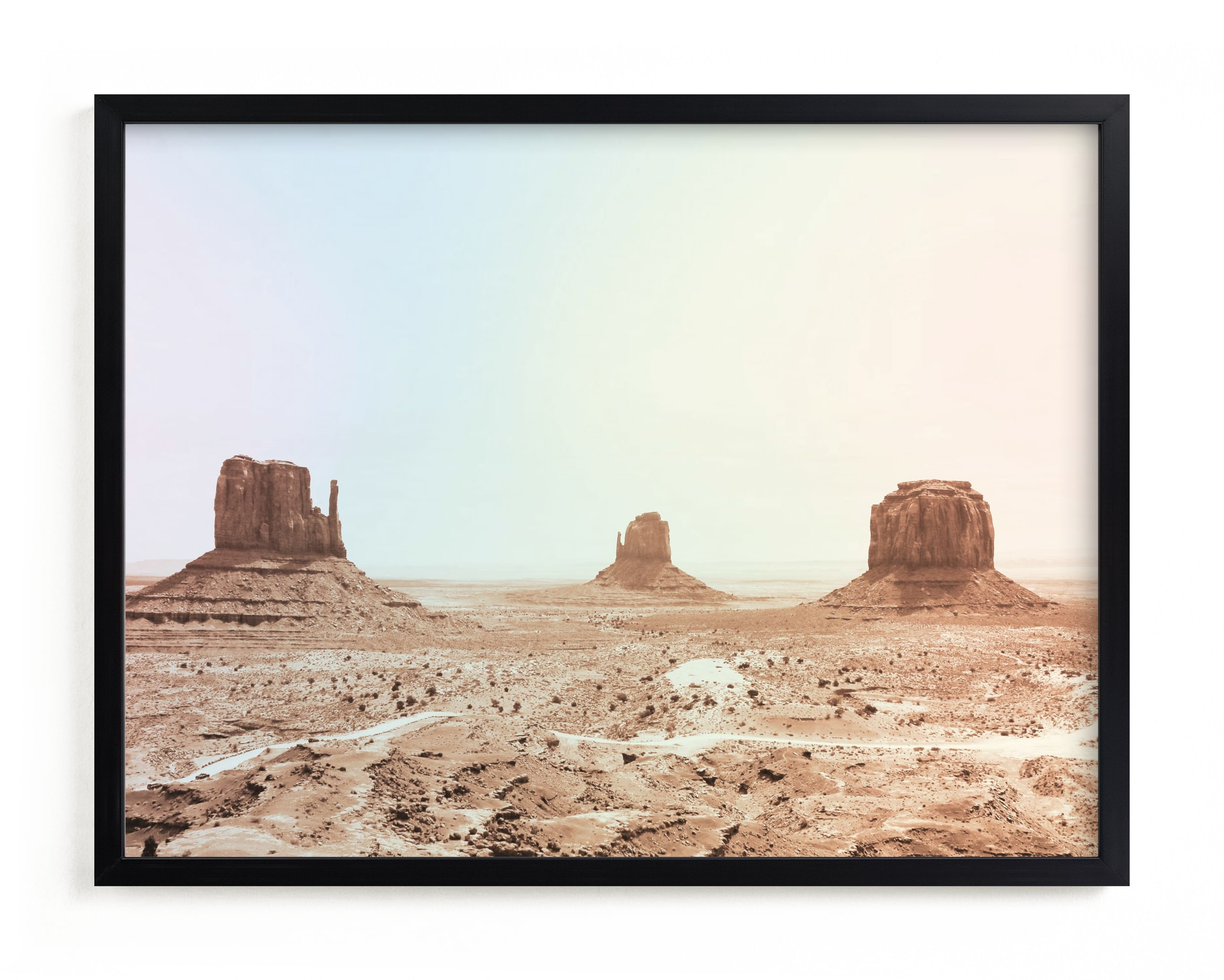 """""""Life on Mars"""" - Grownup Open Edition Non-custom Art Print by lulu and isabelle in beautiful frame options and a variety of sizes."""