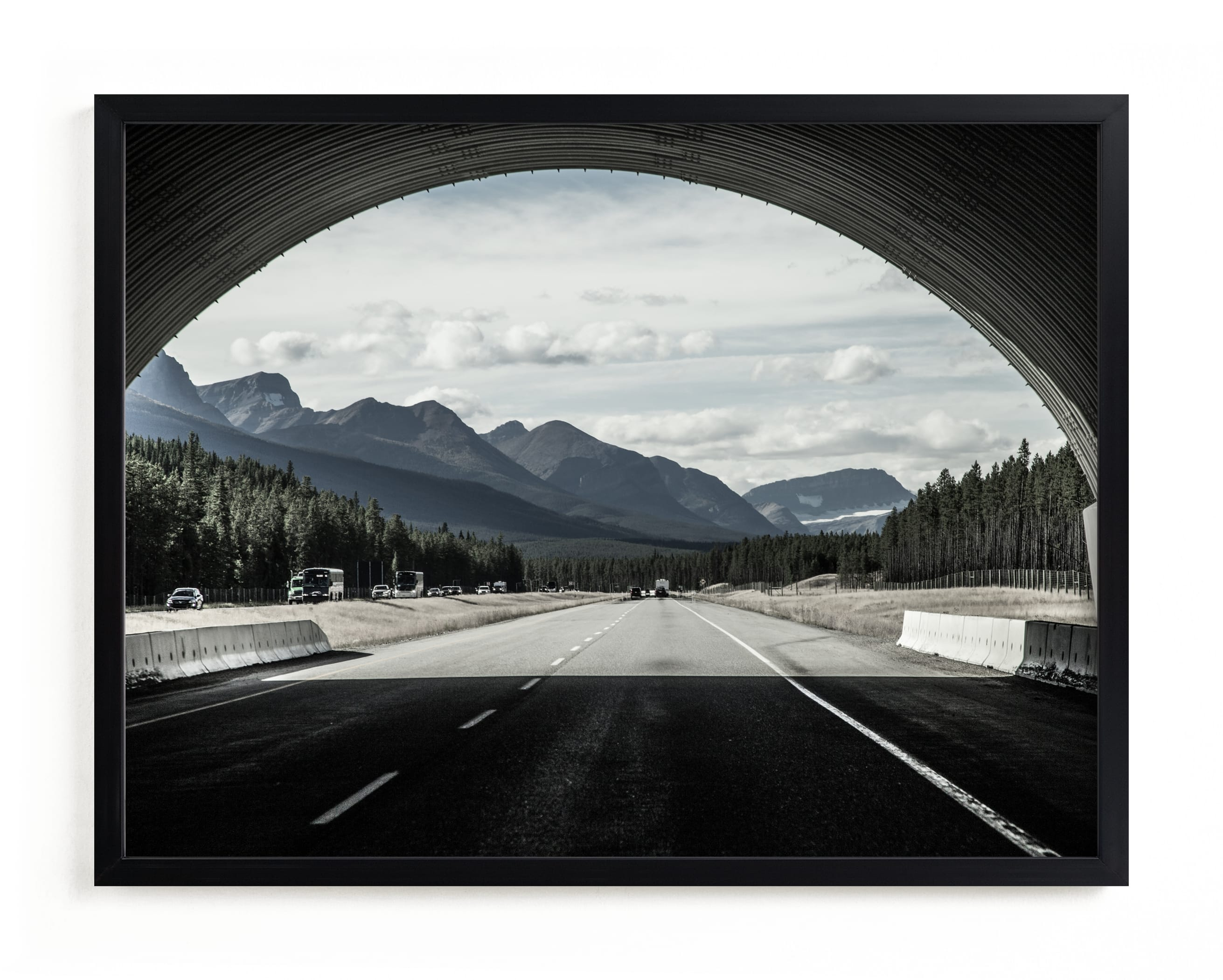 """""""down in the middle"""" by Van Tsao in beautiful frame options and a variety of sizes."""