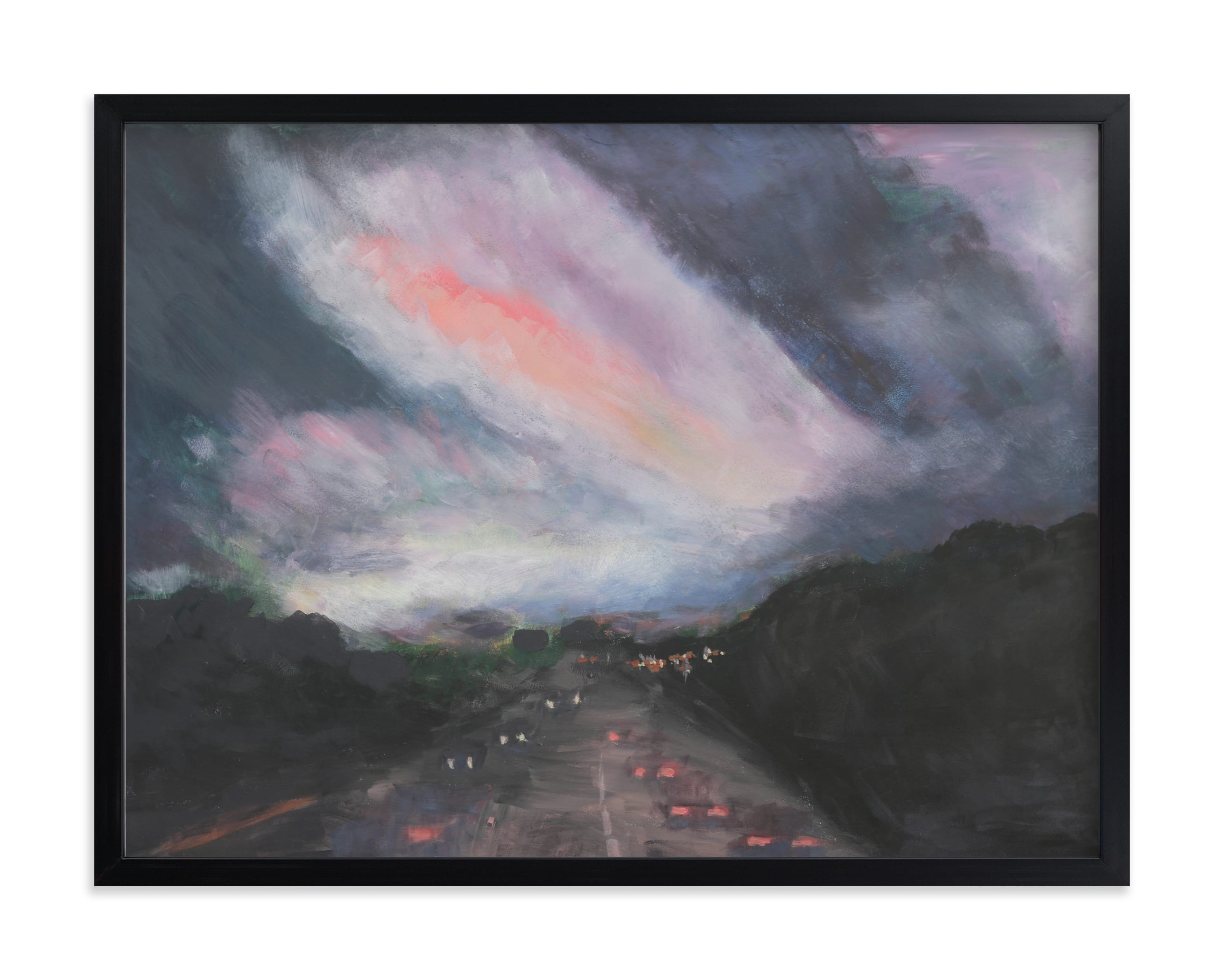 """""""Nightrider"""" by Susanna Nousiainen in beautiful frame options and a variety of sizes."""