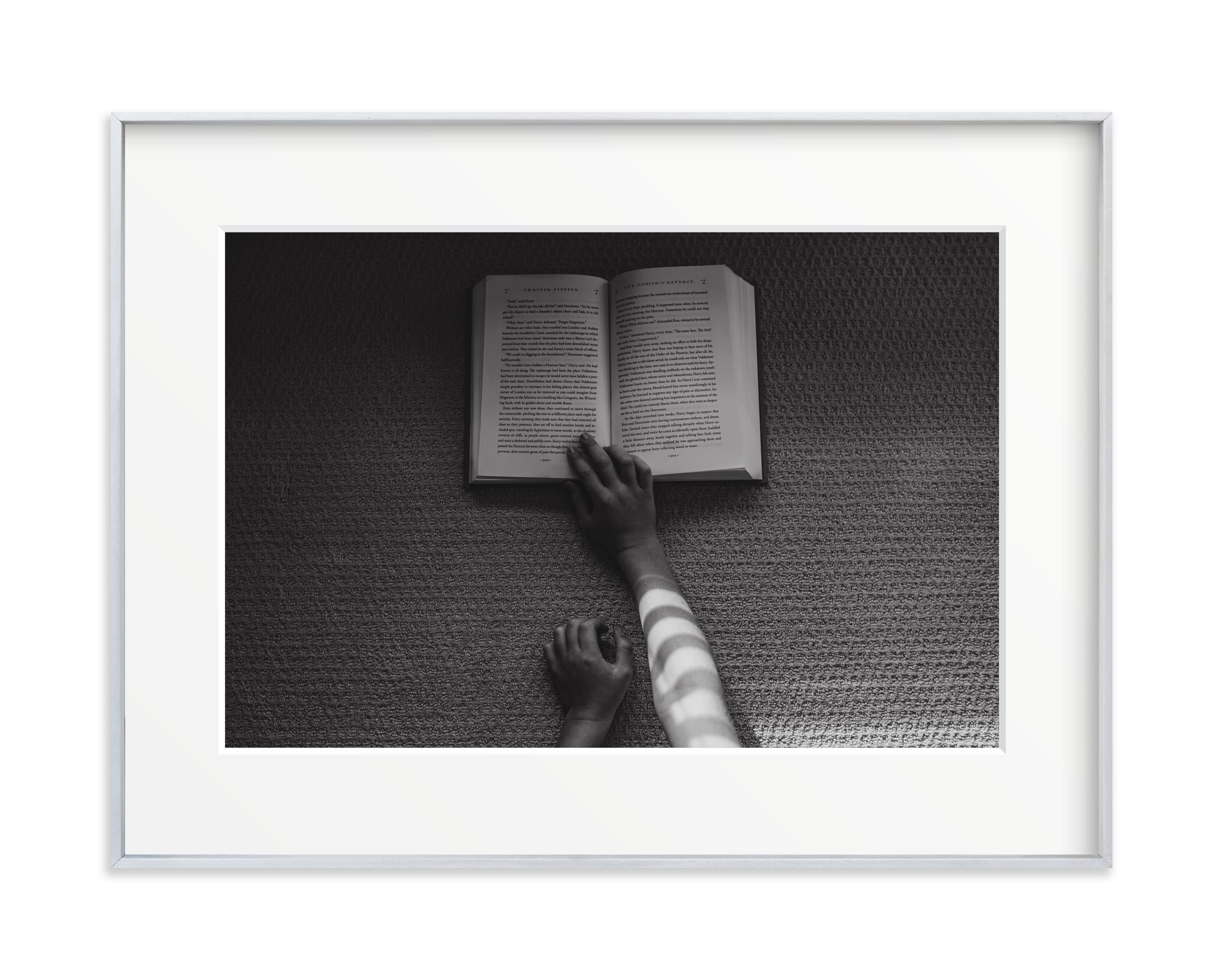 Book I Wall Art Print