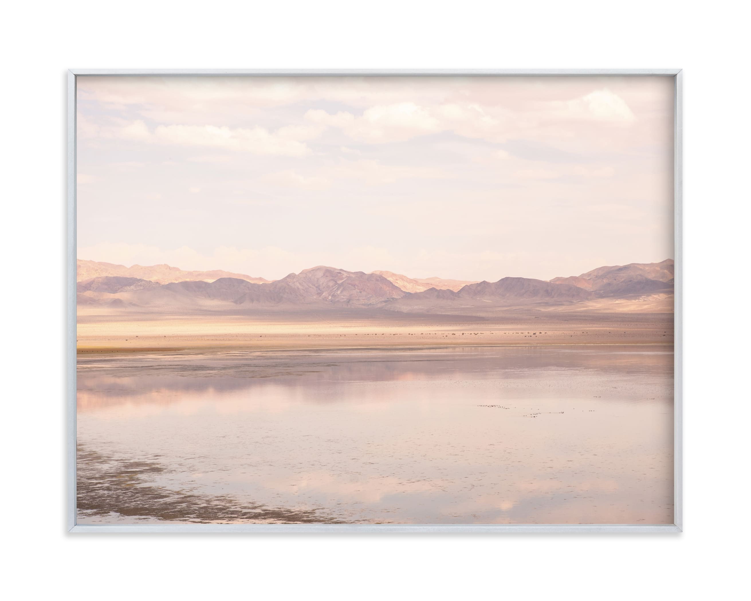 """desert lake"" - Limited Edition Art Print by jessi gilbert in beautiful frame options and a variety of sizes."
