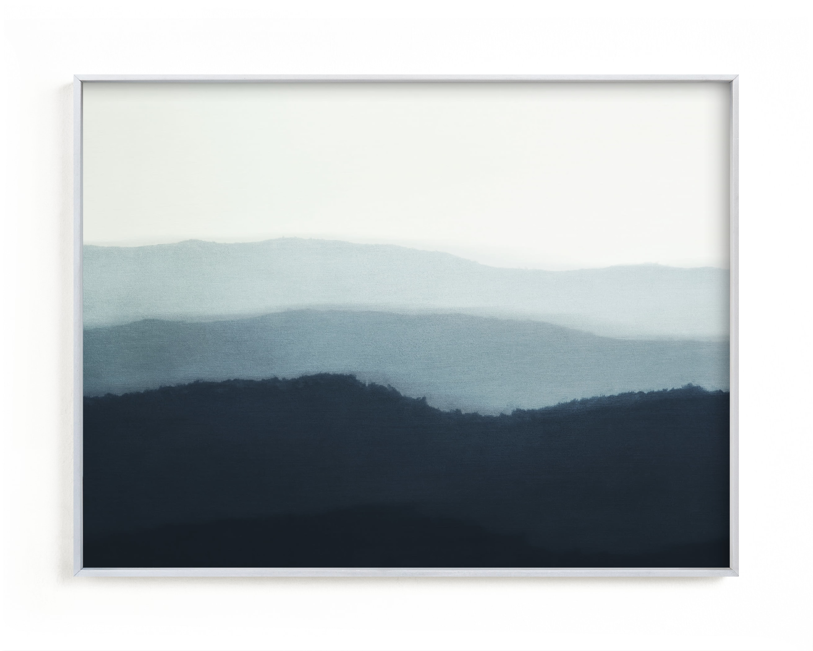 """""""Ridgeline"""" - Limited Edition Art Print by Rebecca Rueth in beautiful frame options and a variety of sizes."""